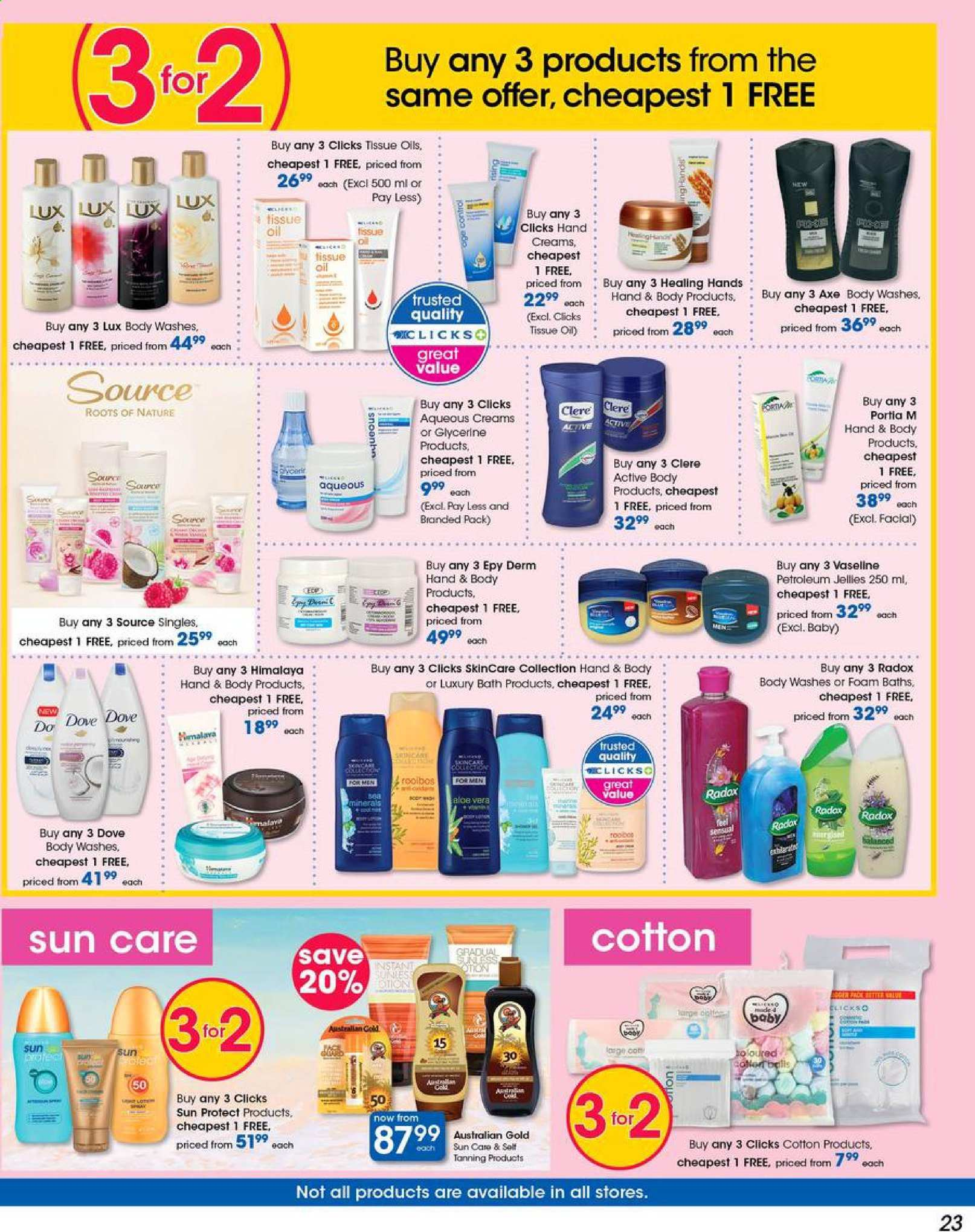 Clicks catalogue  - 05.03.2019 - 05.13.2019. Page 23.