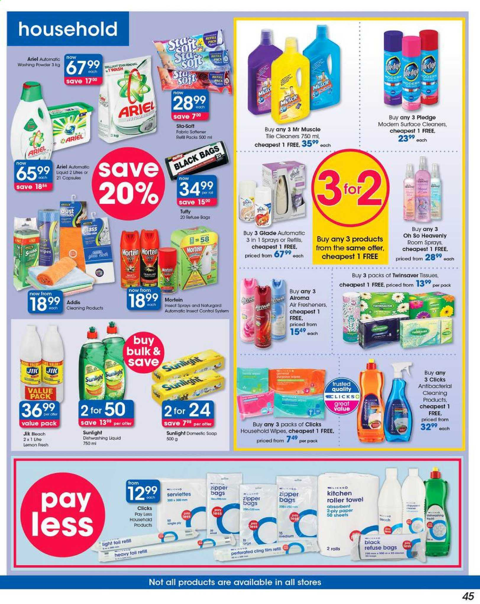 Clicks catalogue  - 05.03.2019 - 05.13.2019. Page 45.