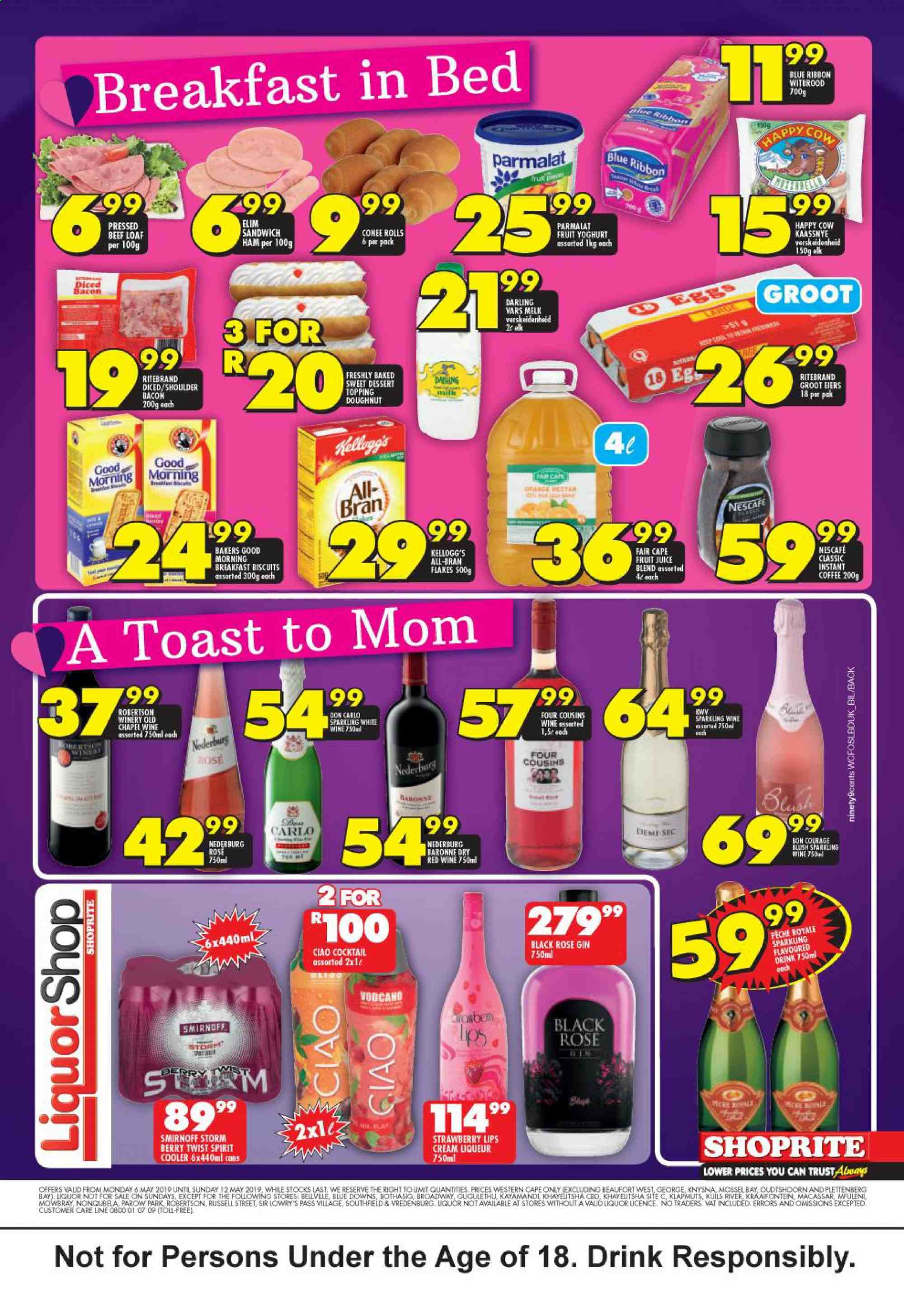 Shoprite catalogue  - 05.06.2019 - 05.12.2019. Page 4.