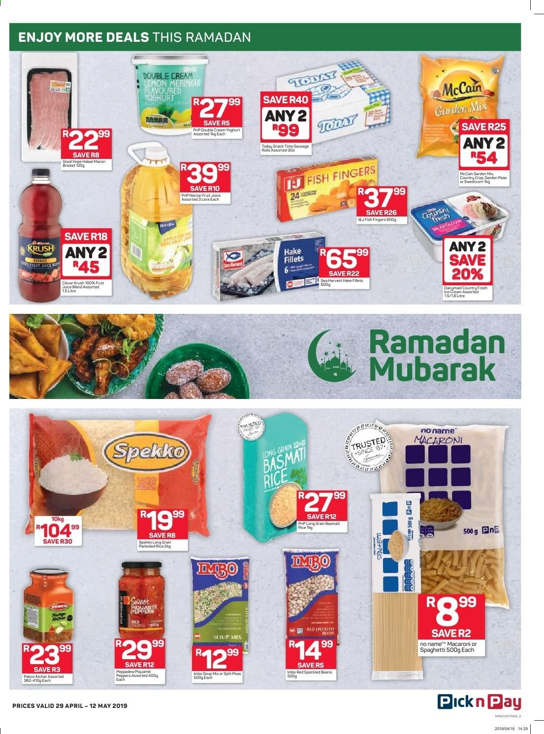 Pick n Pay catalogue  - 04.29.2019 - 05.12.2019. Page 3.