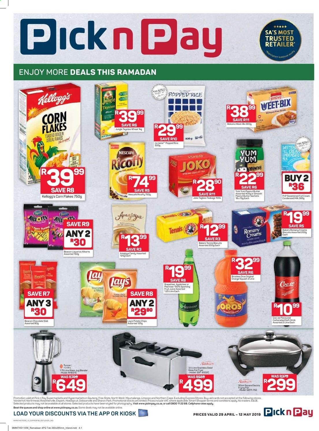 Pick n Pay catalogue  - 04.29.2019 - 05.12.2019. Page 4.