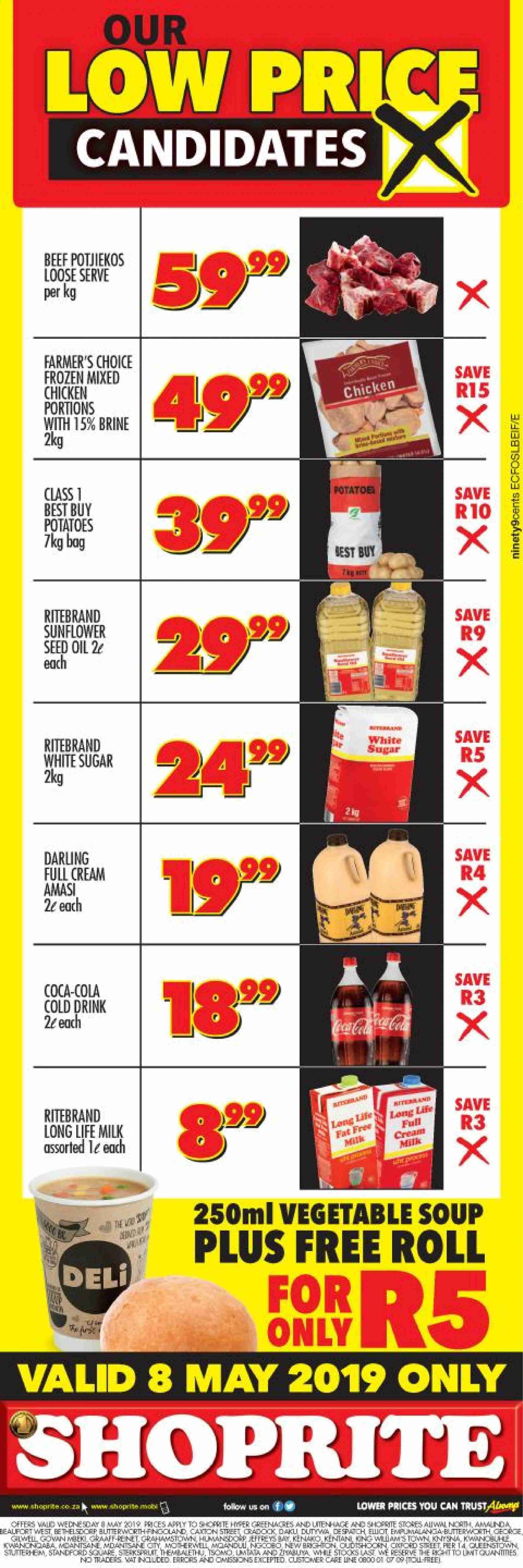 Shoprite catalogue  - 05.08.2019 - 05.08.2019. Page 1.