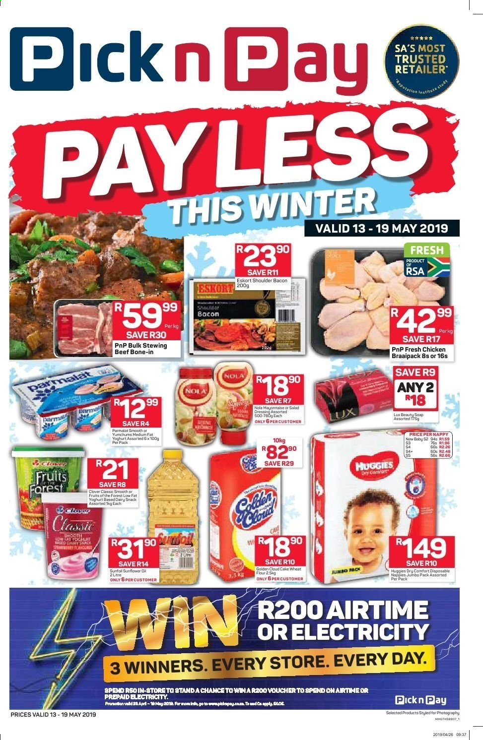 Pick n Pay catalogue  - 05.13.2019 - 05.19.2019. Page 1.