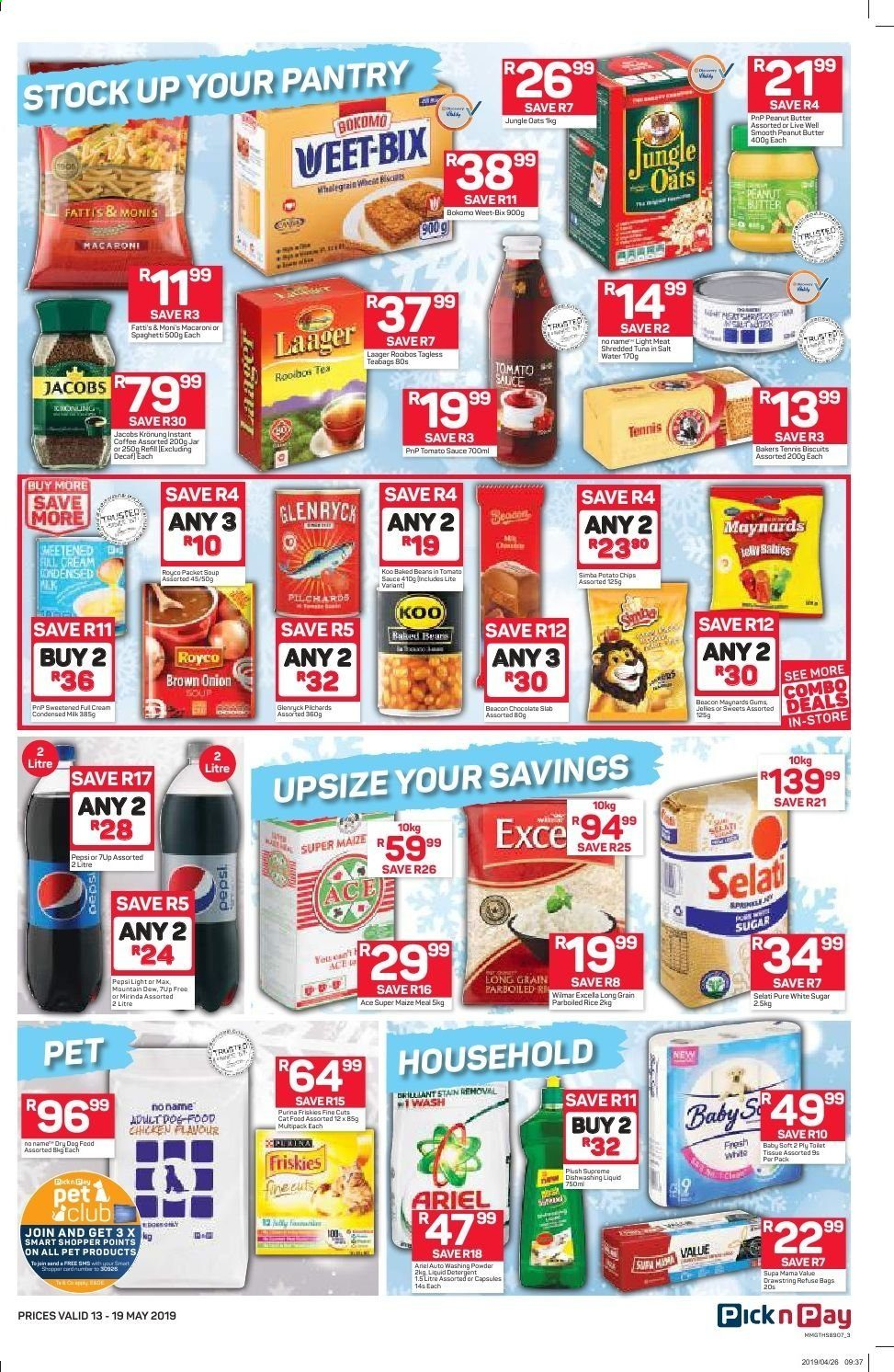 Pick n Pay catalogue  - 05.13.2019 - 05.19.2019. Page 3.