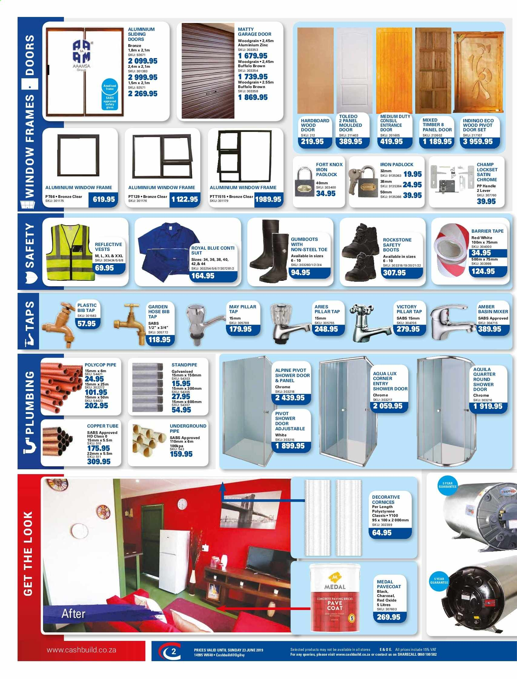 Cashbuild catalogue  - 05.20.2019 - 06.23.2019. Page 2.
