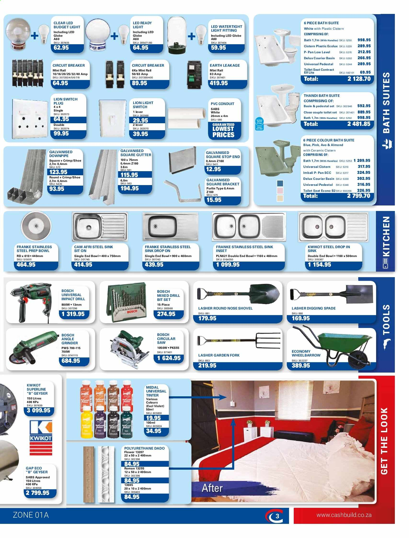 Cashbuild catalogue  - 05.20.2019 - 06.23.2019. Page 3.