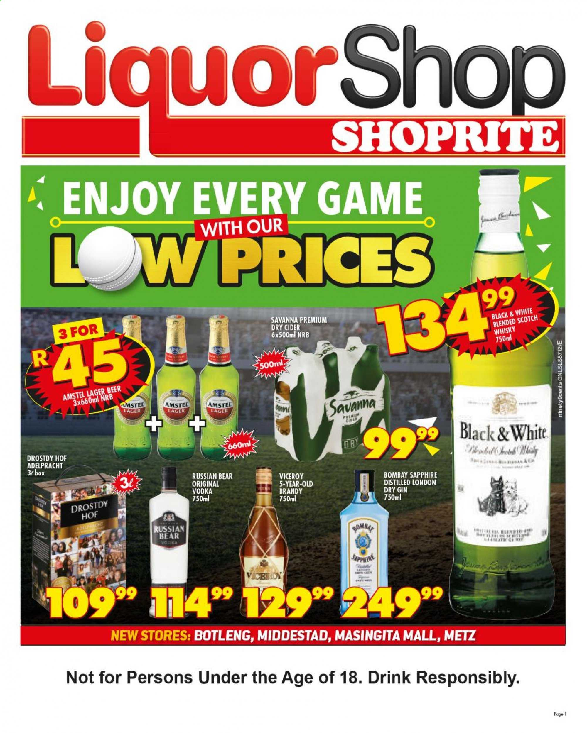 Shoprite catalogue  - 05.21.2019 - 06.09.2019. Page 1.