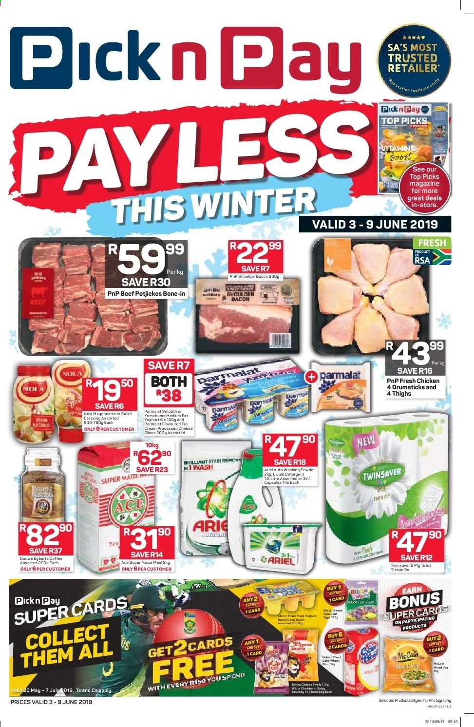 Pick n Pay catalogue  - 06.03.2019 - 06.09.2019. Page 1.
