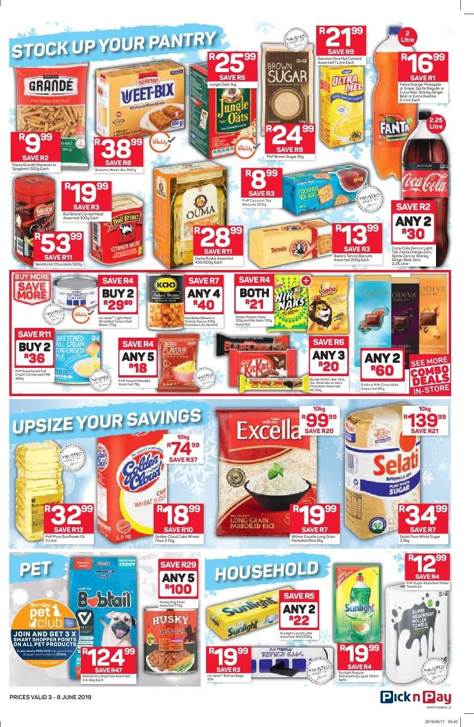 Pick n Pay catalogue  - 06.03.2019 - 06.09.2019. Page 3.