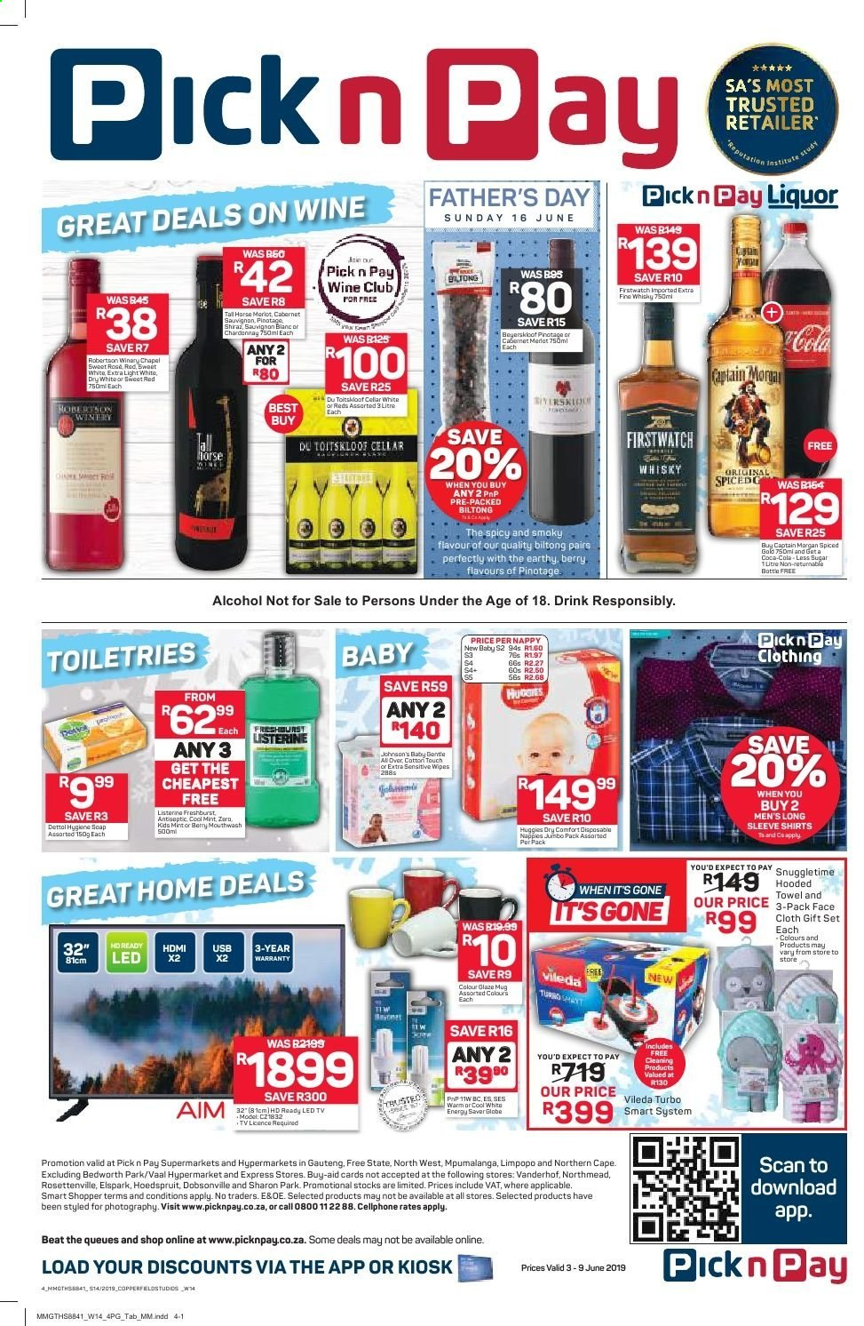 Pick n Pay catalogue  - 06.03.2019 - 06.09.2019. Page 4.
