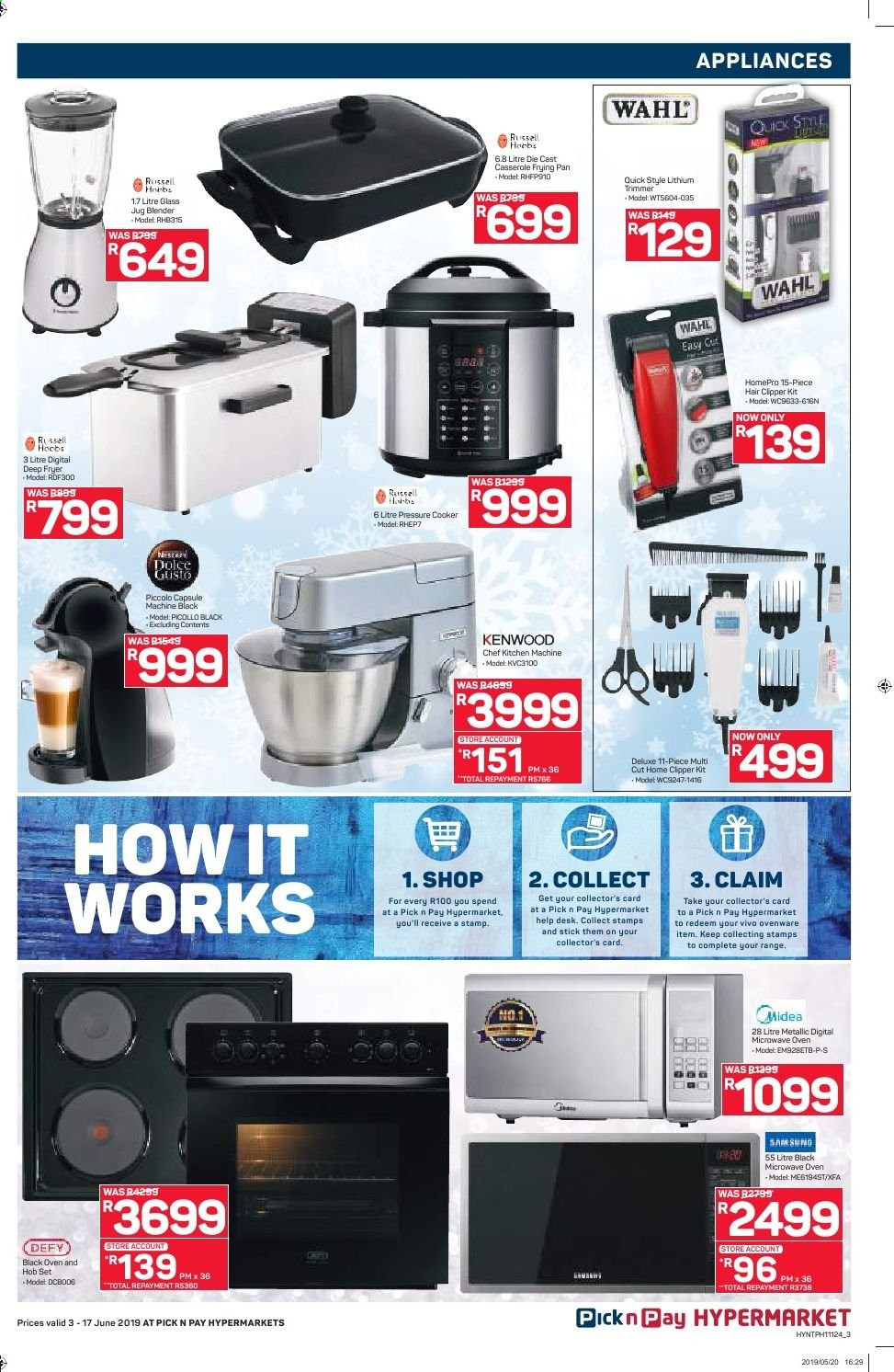 Pick n Pay catalogue  - 06.03.2019 - 06.17.2019. Page 3.