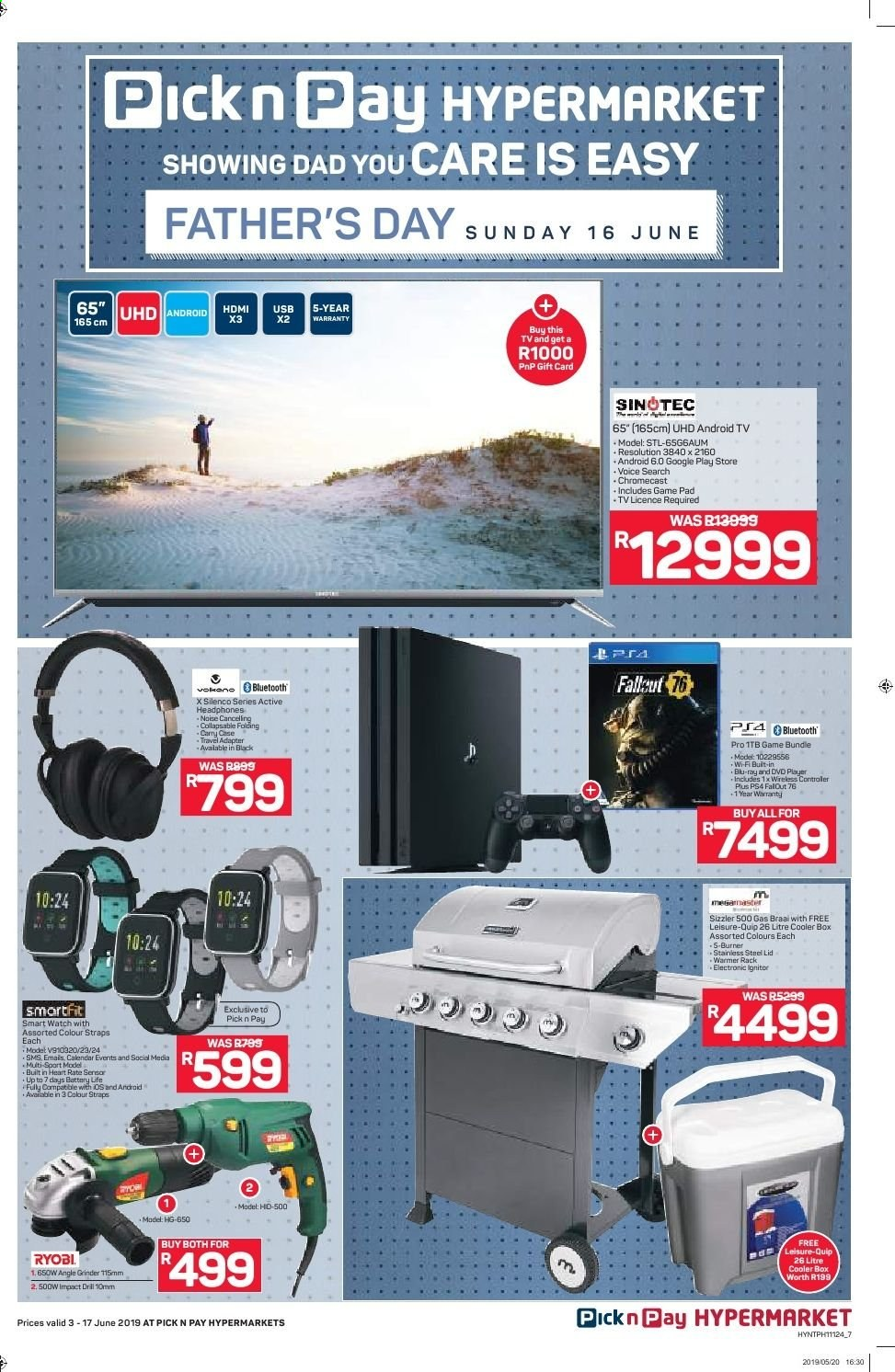 Pick n Pay catalogue  - 06.03.2019 - 06.17.2019. Page 7.