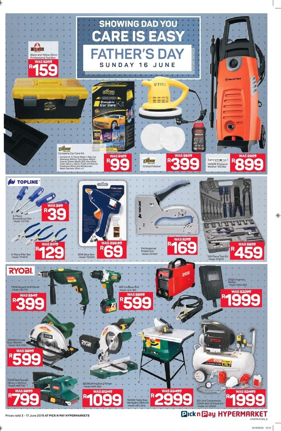 Pick n Pay catalogue  - 06.03.2019 - 06.17.2019. Page 9.