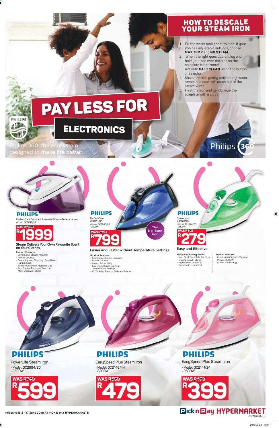 Pick n Pay catalogue  - 06.03.2019 - 06.17.2019. Page 11.