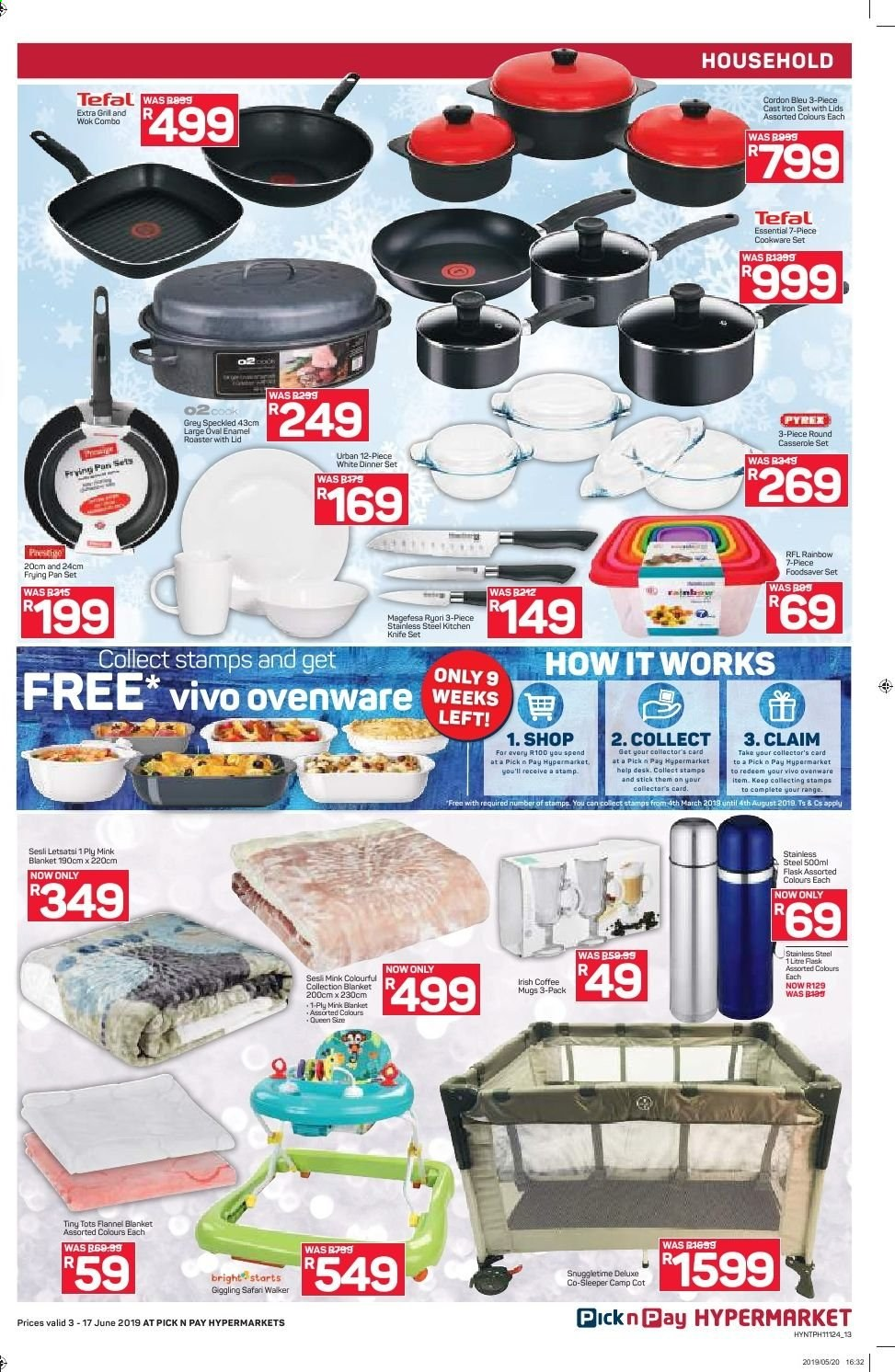 Pick n Pay catalogue  - 06.03.2019 - 06.17.2019. Page 13.