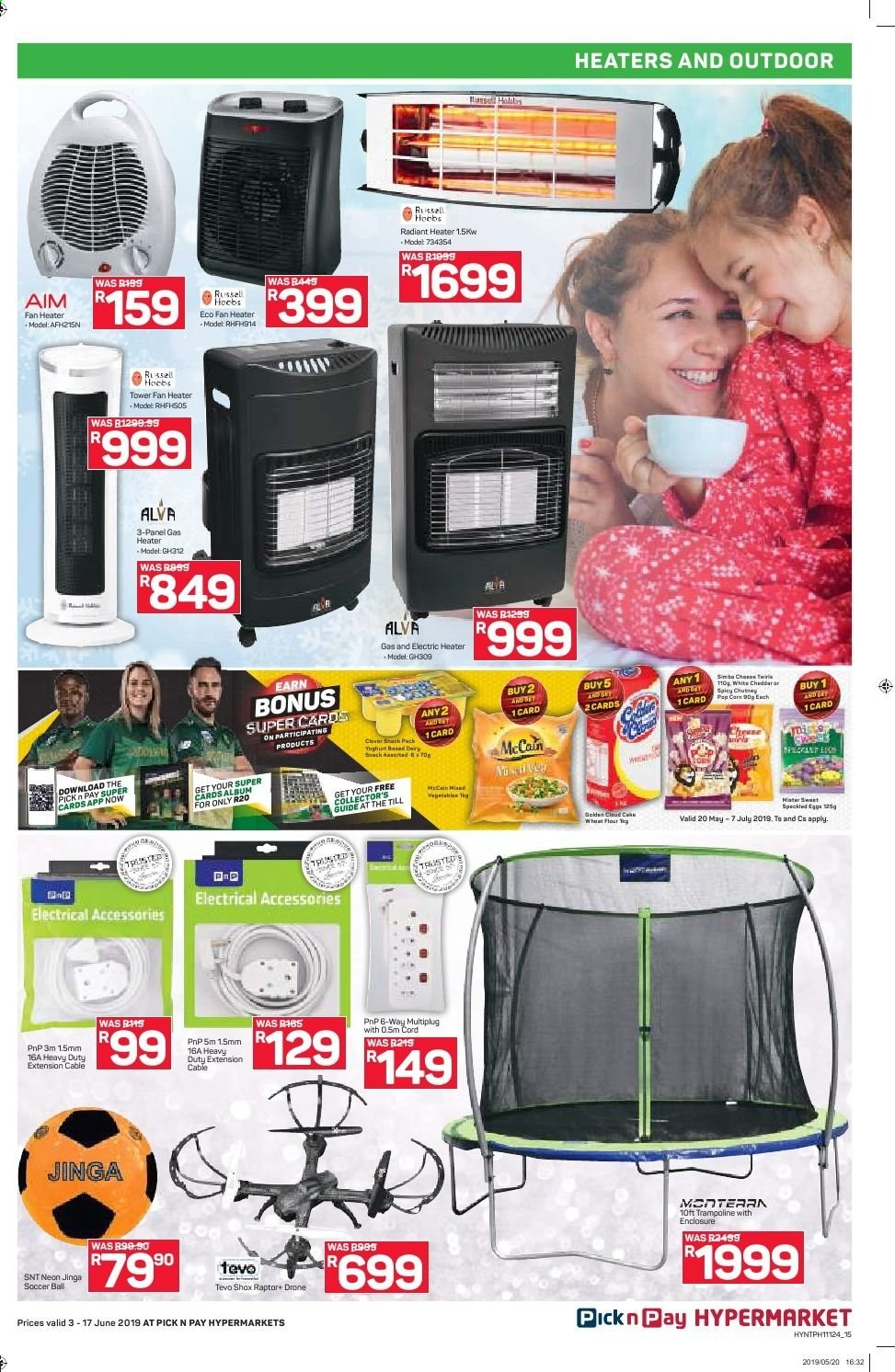 Pick n Pay catalogue  - 06.03.2019 - 06.17.2019. Page 15.