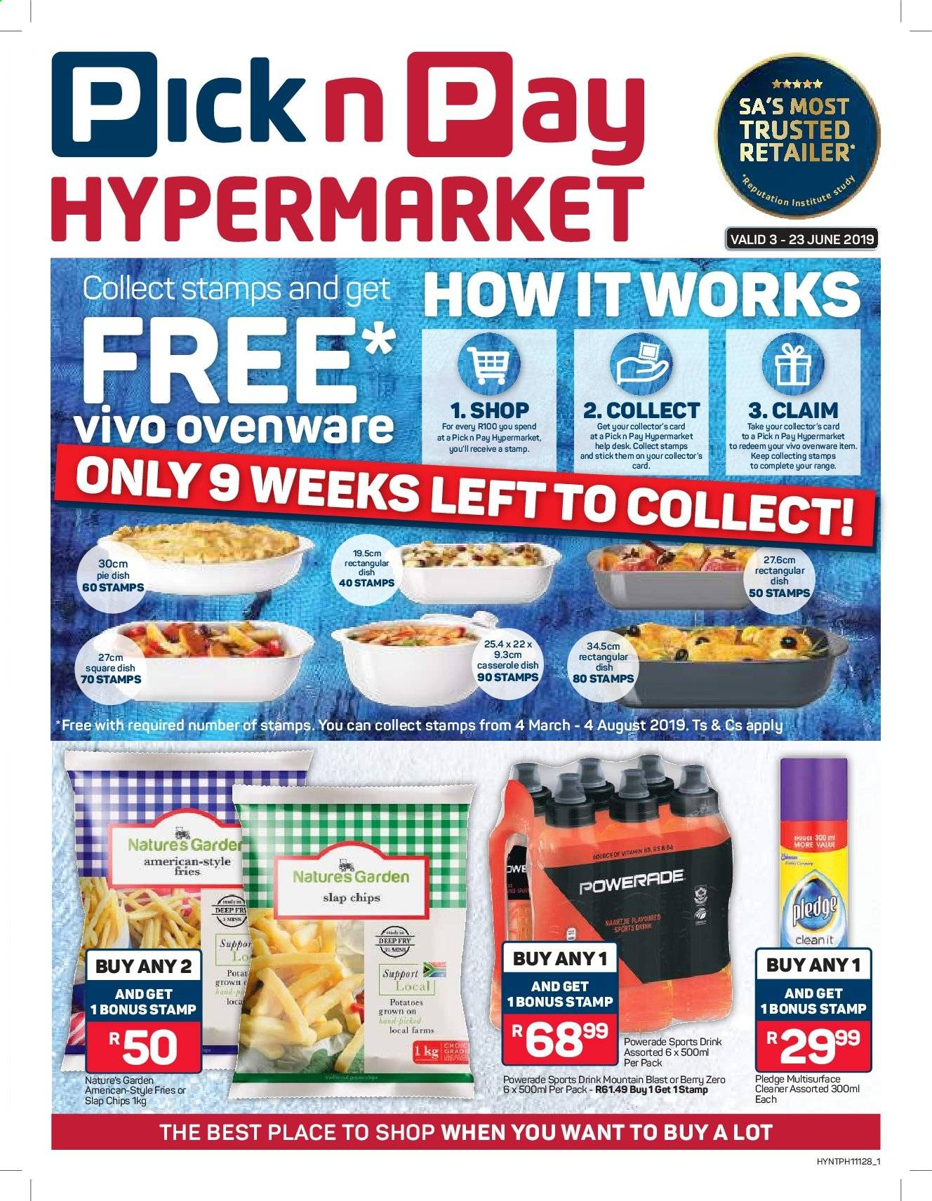 Pick n Pay catalogue  - 06.03.2019 - 06.23.2019. Page 1.