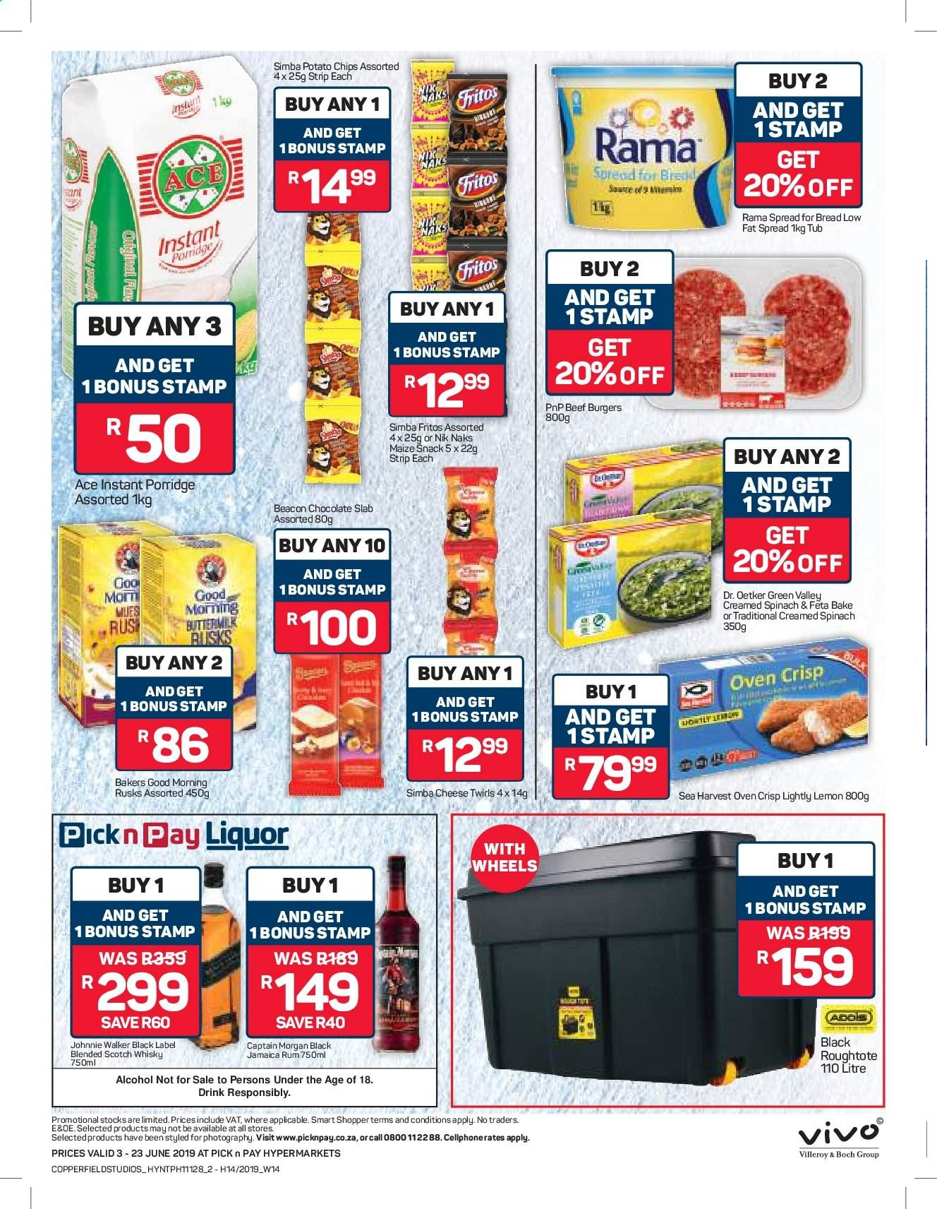 Pick n Pay catalogue  - 06.03.2019 - 06.23.2019. Page 2.