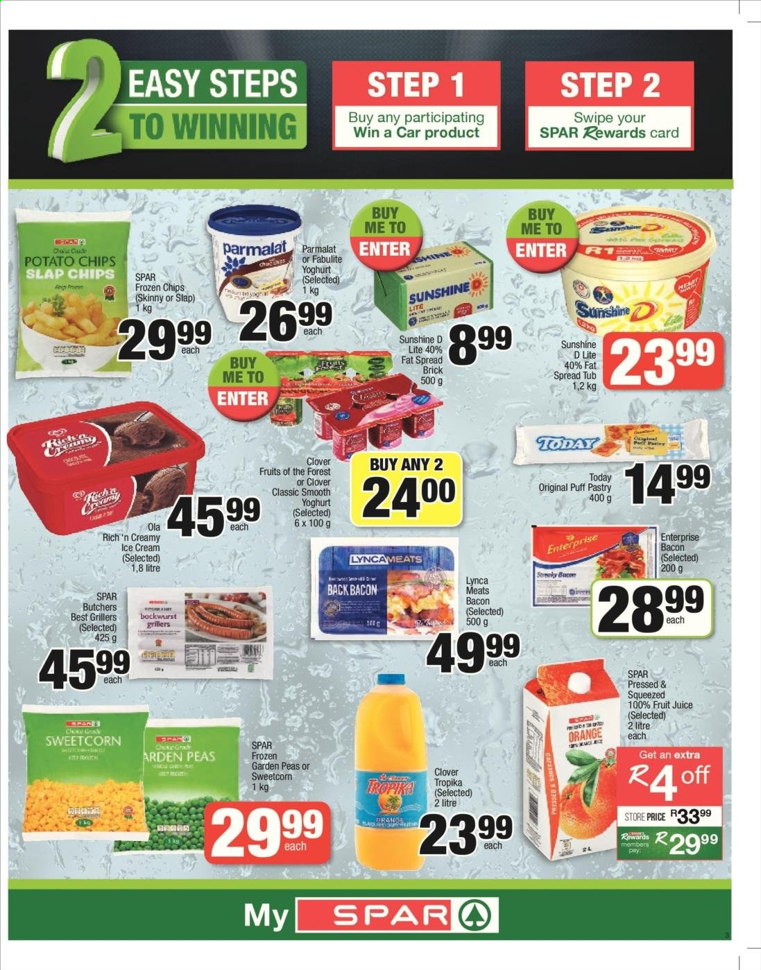 SPAR catalogue  - 06.04.2019 - 06.23.2019. Page 3.