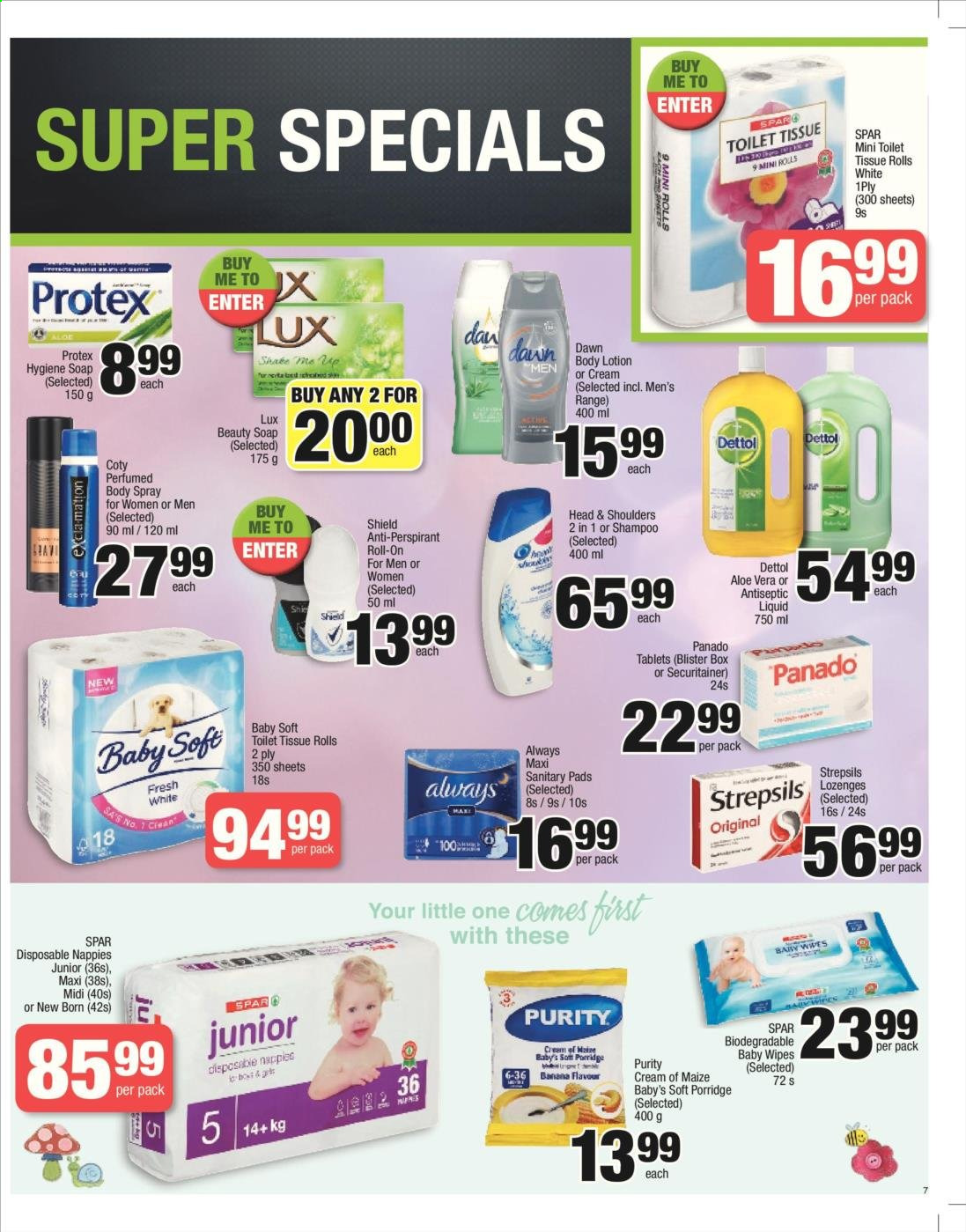 SPAR catalogue  - 06.04.2019 - 06.23.2019. Page 7.