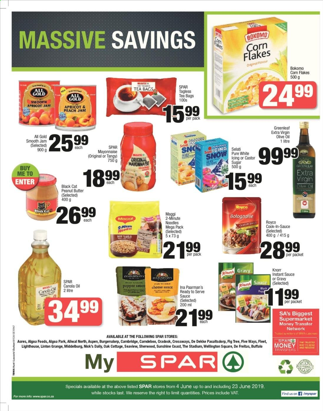 SPAR catalogue  - 06.04.2019 - 06.23.2019. Page 8.