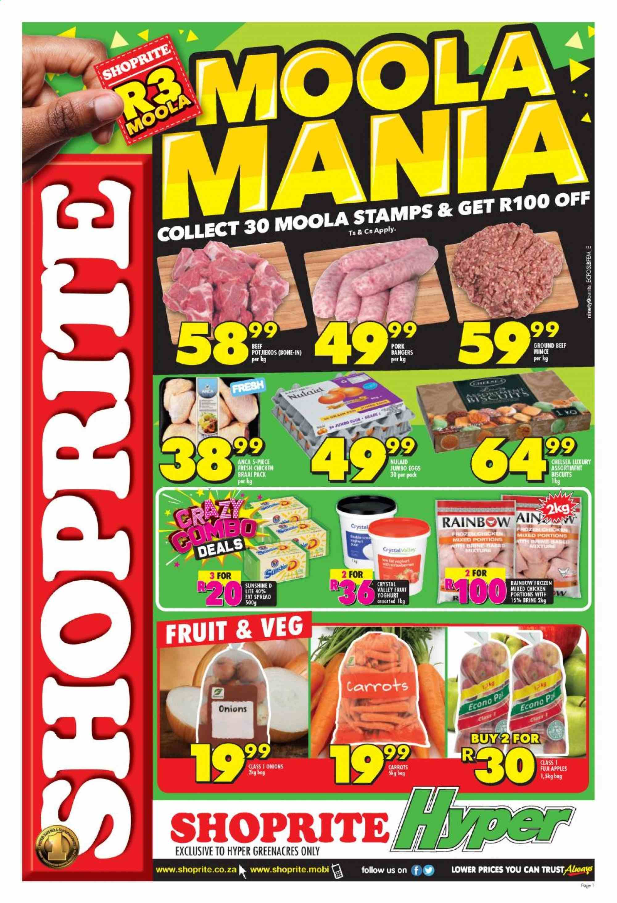 Shoprite catalogue  - 06.14.2019 - 06.17.2019. Page 1.