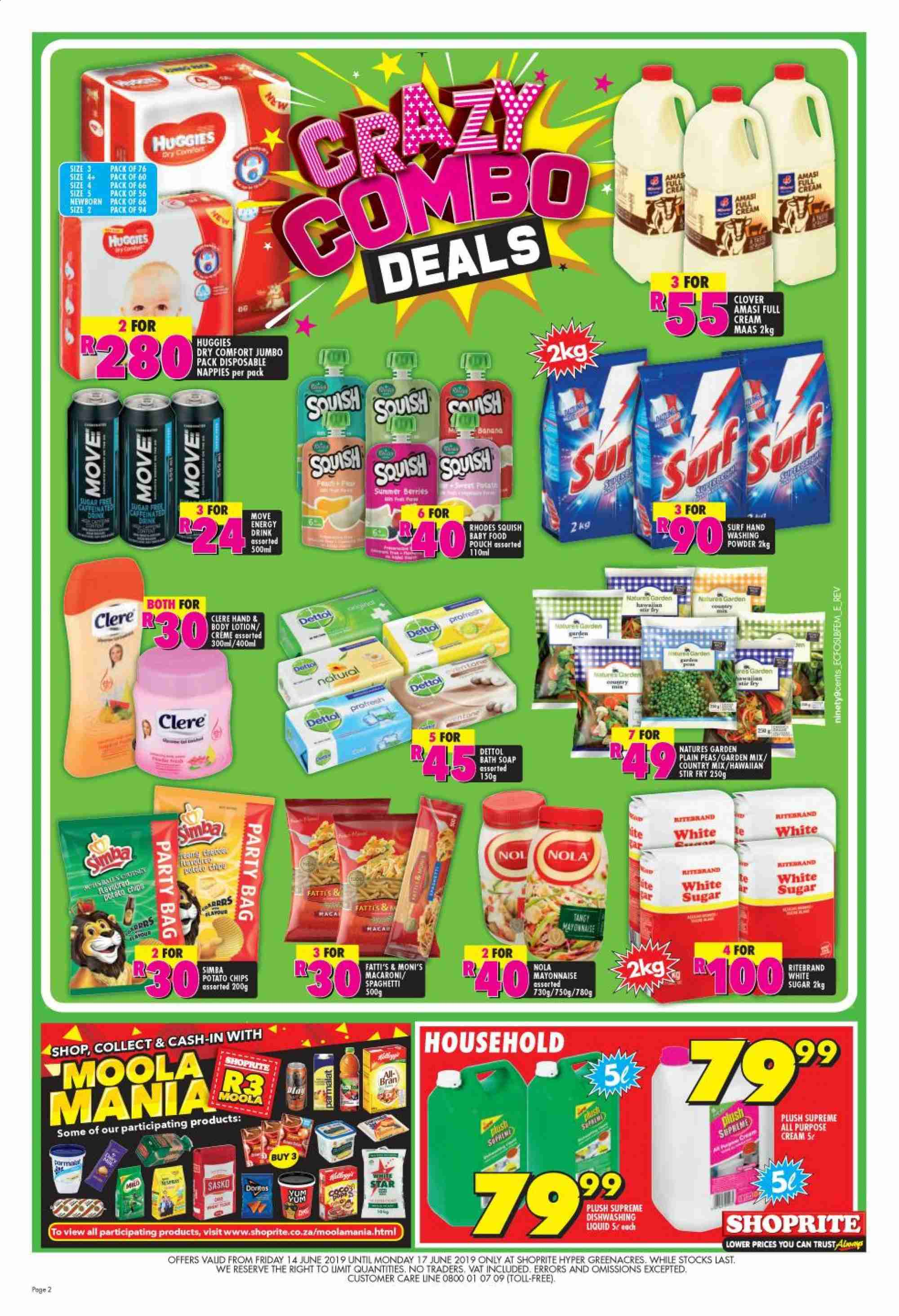 Shoprite catalogue  - 06.14.2019 - 06.17.2019. Page 2.