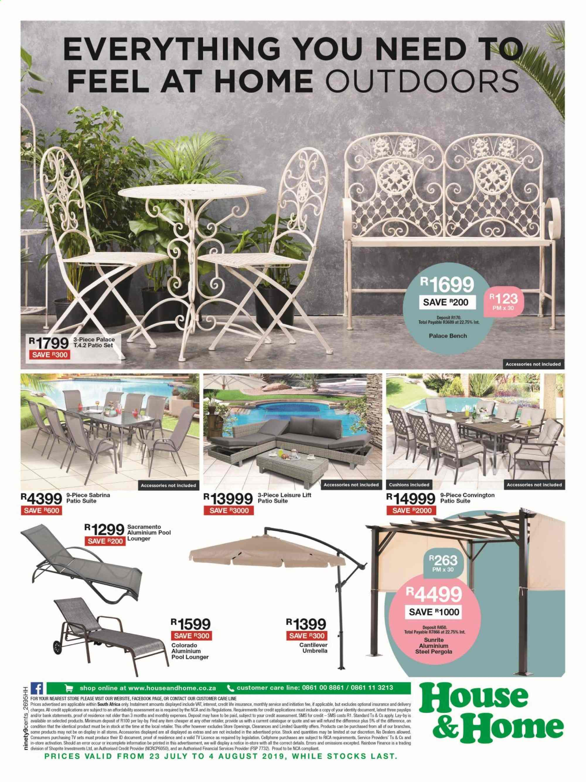 House & Home catalogue  - 07.23.2019 - 08.04.2019. Page 12.