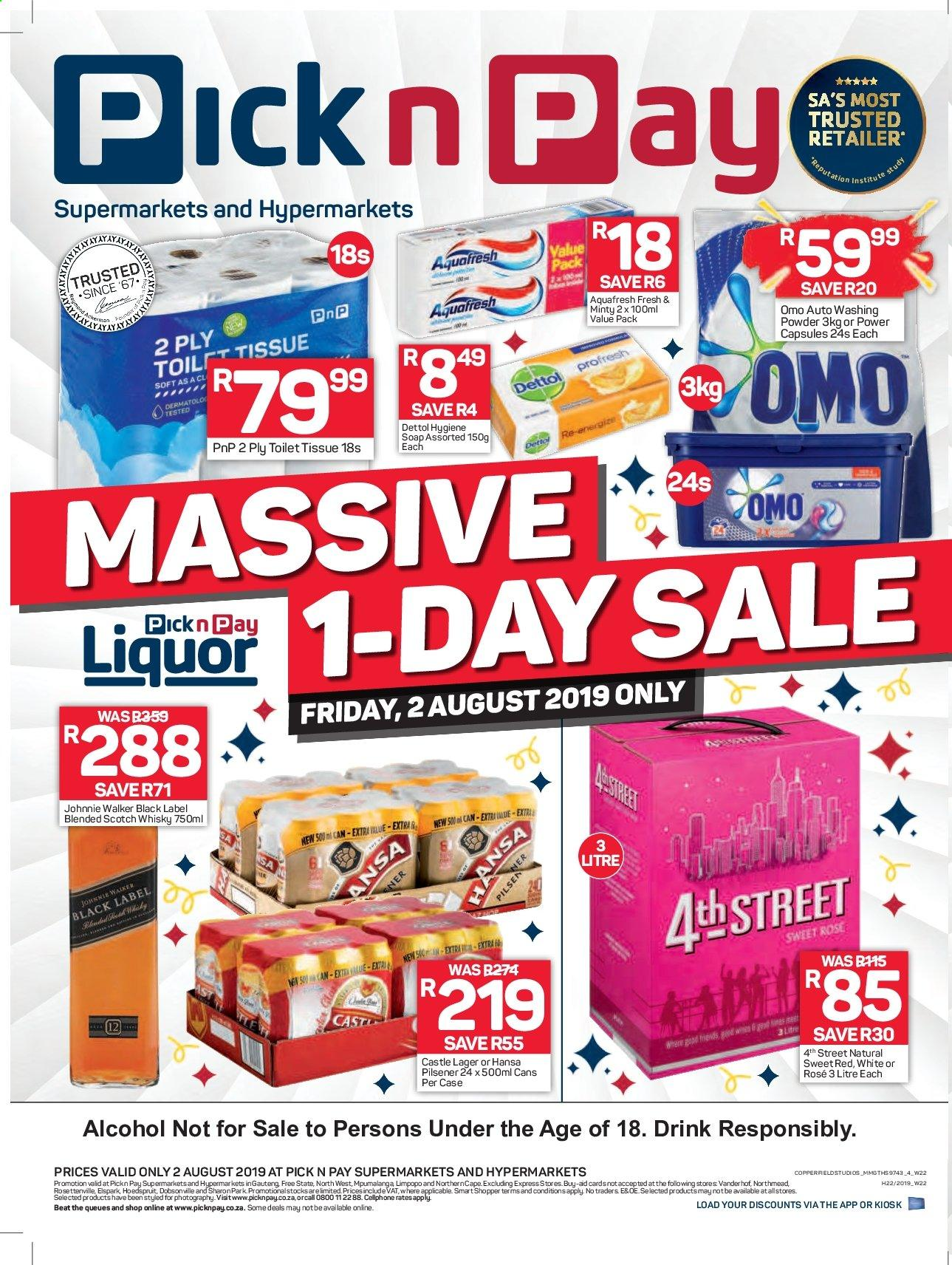Pick n Pay catalogue  - 08.02.2019 - 08.02.2019. Page 1.