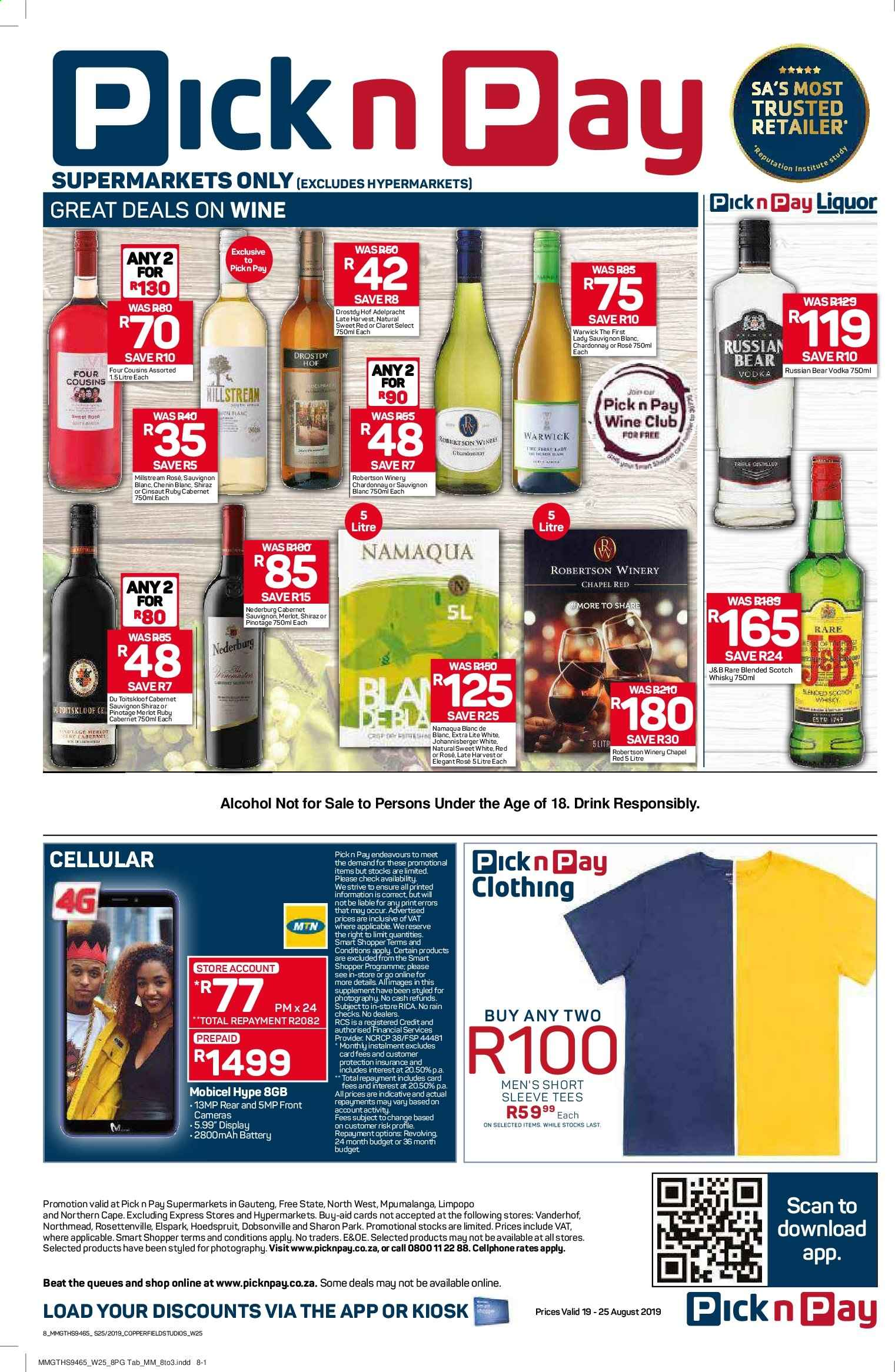 Pick n Pay catalogue  - 08.19.2019 - 08.25.2019. Page 8.
