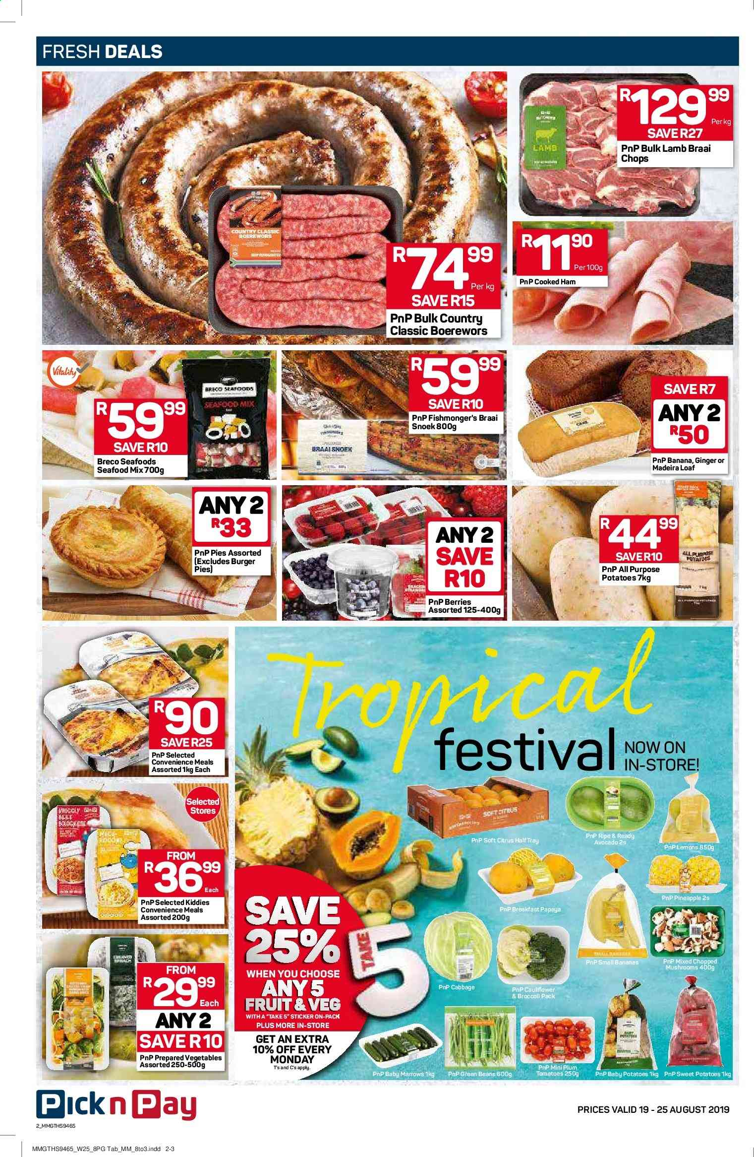Pick n Pay catalogue  - 08.19.2019 - 08.25.2019. Page 2.