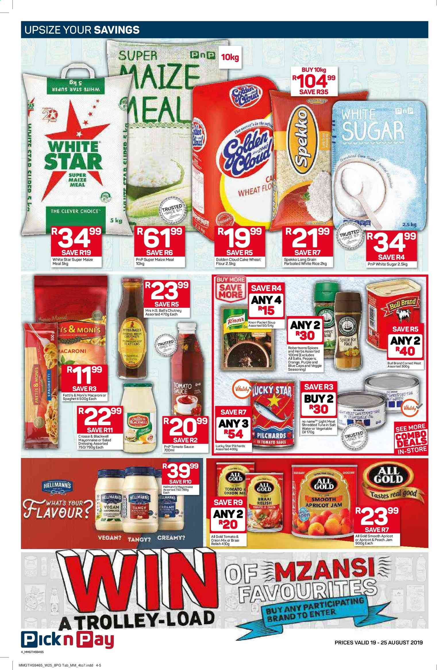 Pick n Pay catalogue  - 08.19.2019 - 08.25.2019. Page 4.