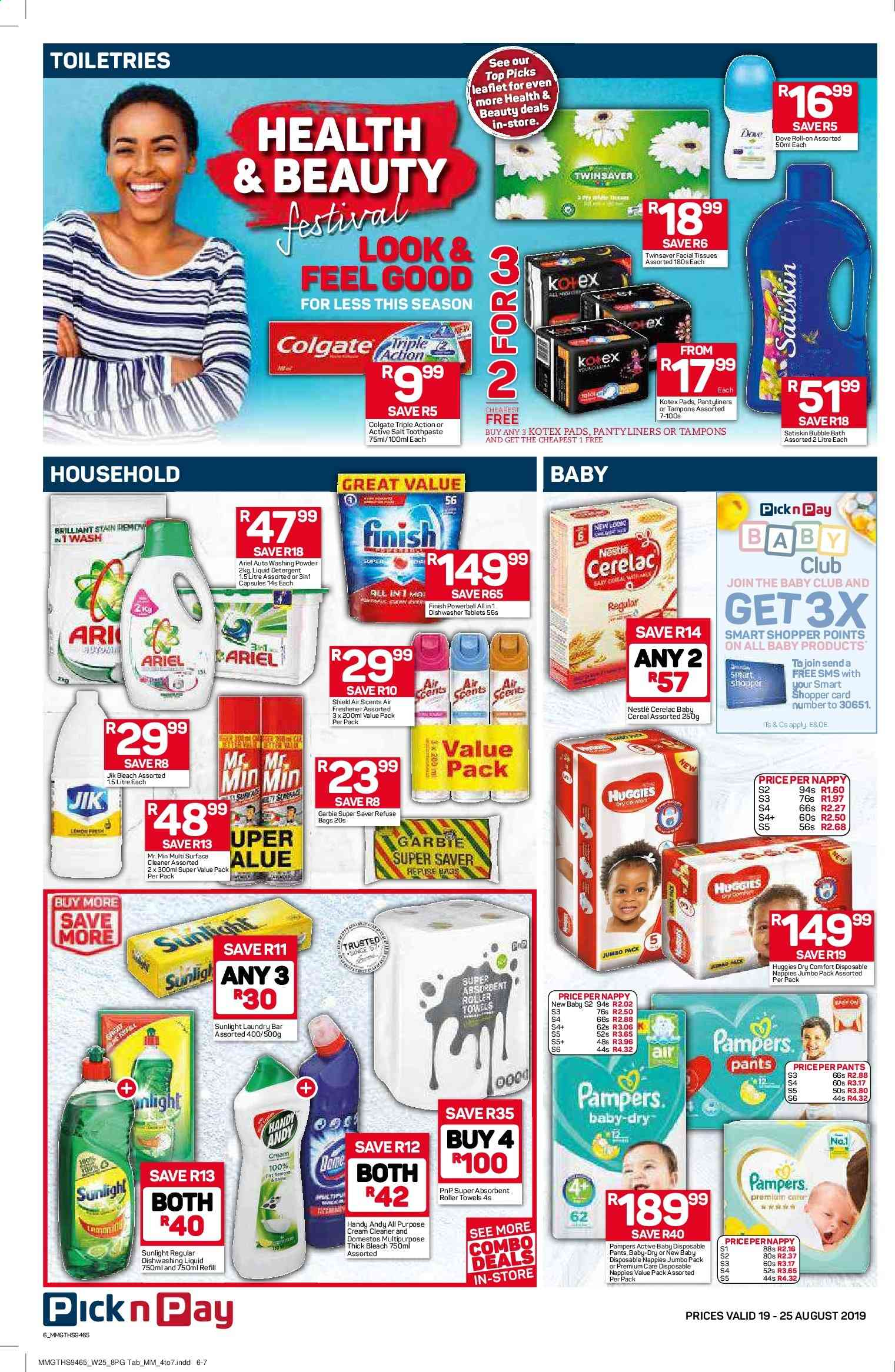 Pick n Pay catalogue  - 08.19.2019 - 08.25.2019. Page 6.
