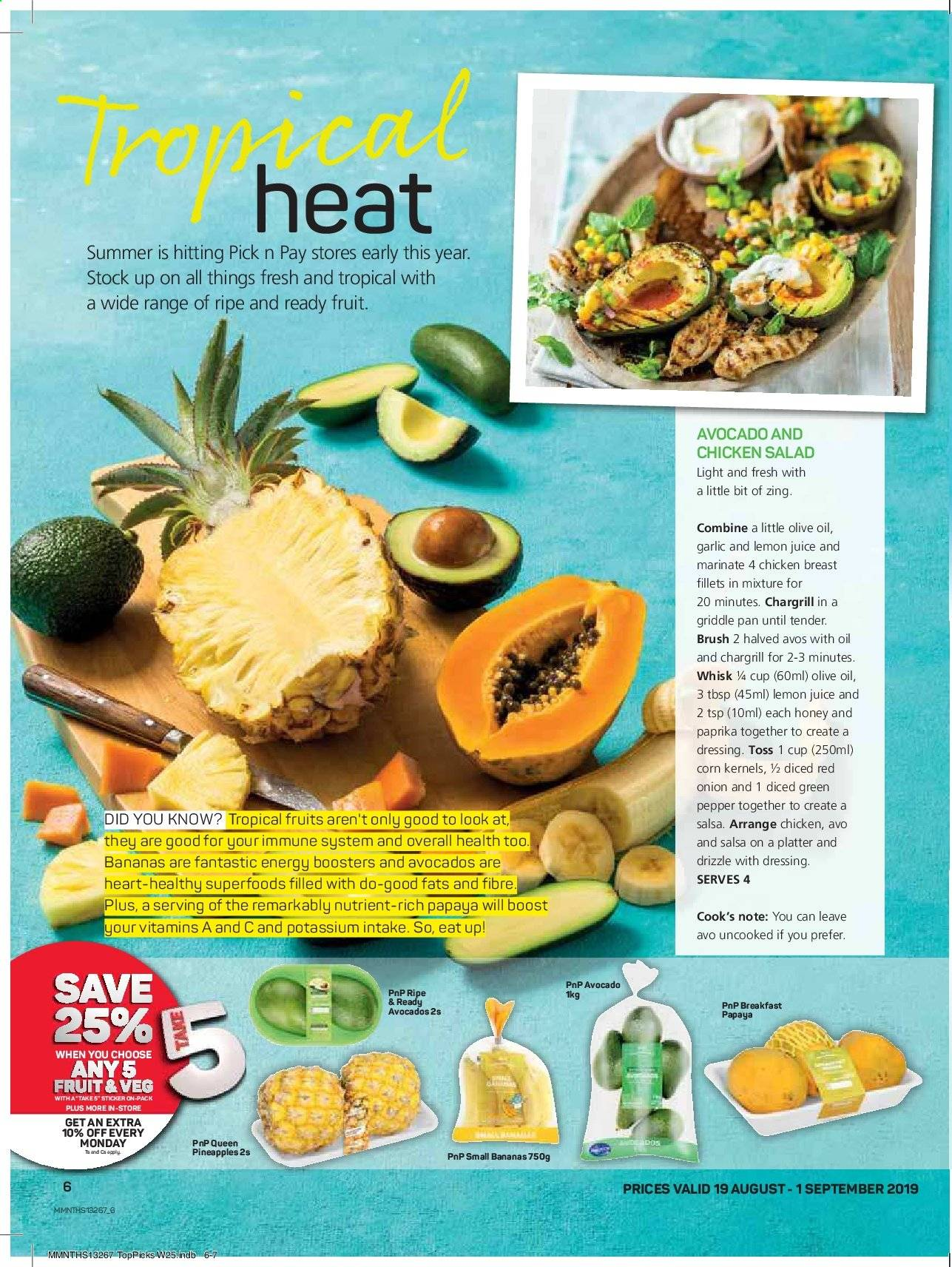 Pick n Pay catalogue  - 08.19.2019 - 09.01.2019. Page 6.