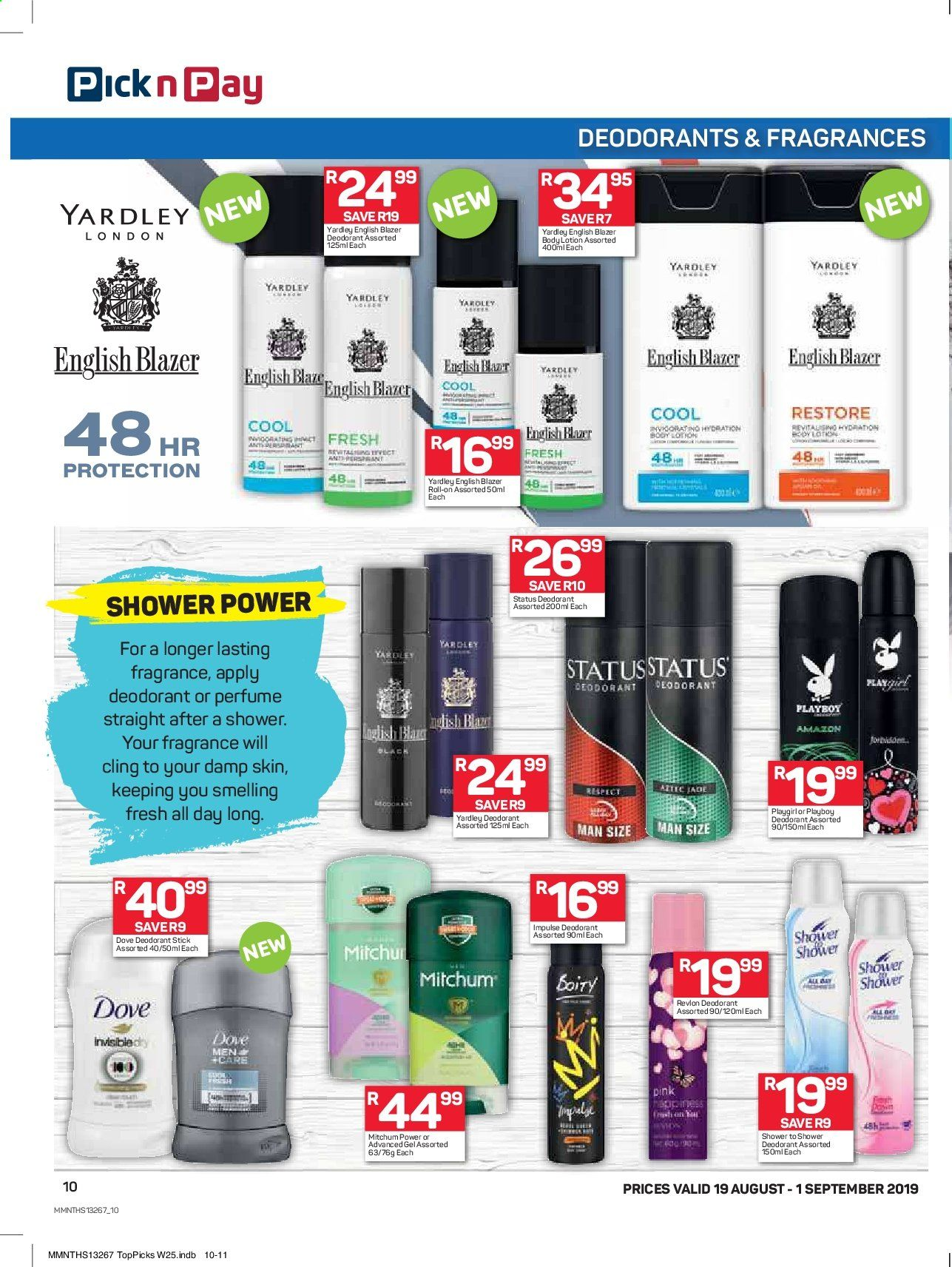 Pick n Pay catalogue  - 08.19.2019 - 09.01.2019. Page 10.