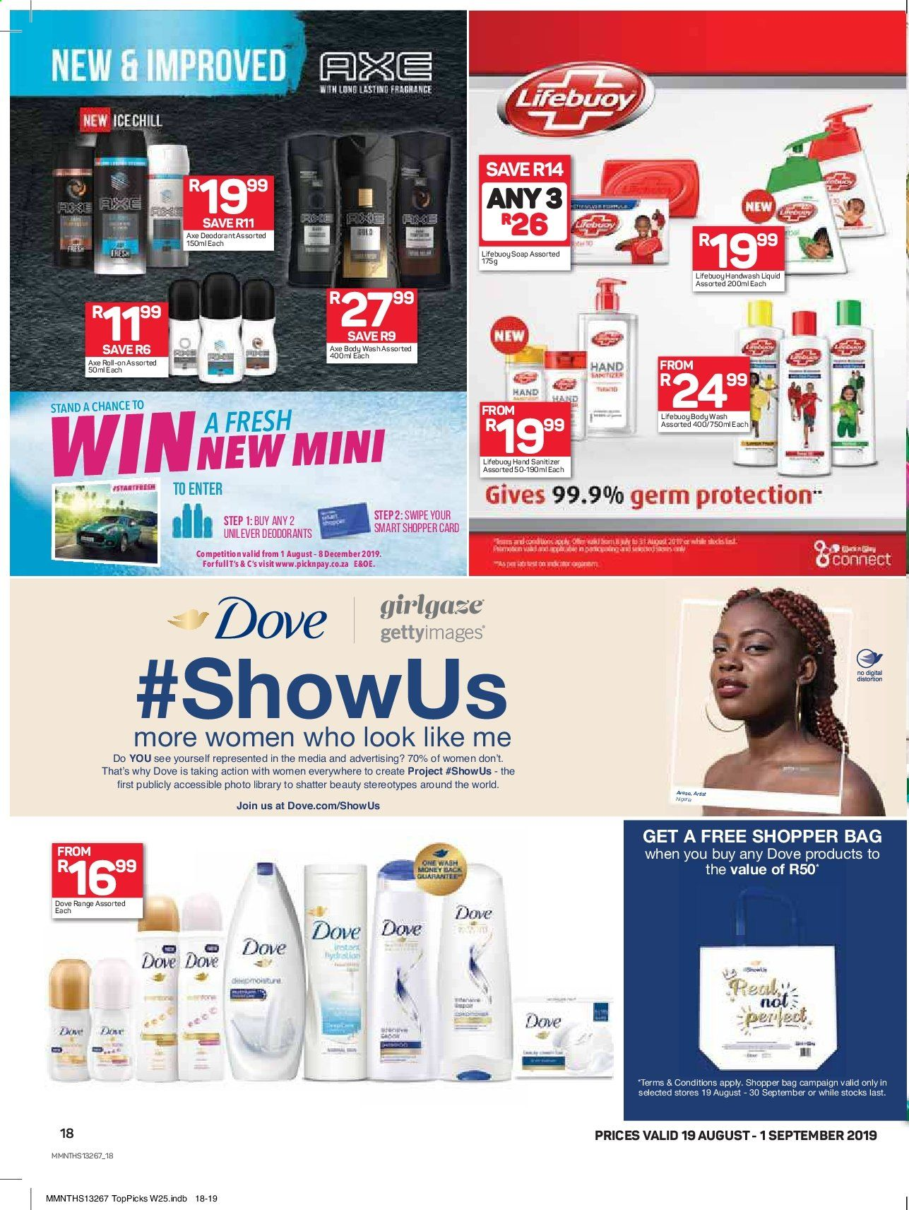 Pick n Pay catalogue  - 08.19.2019 - 09.01.2019. Page 18.