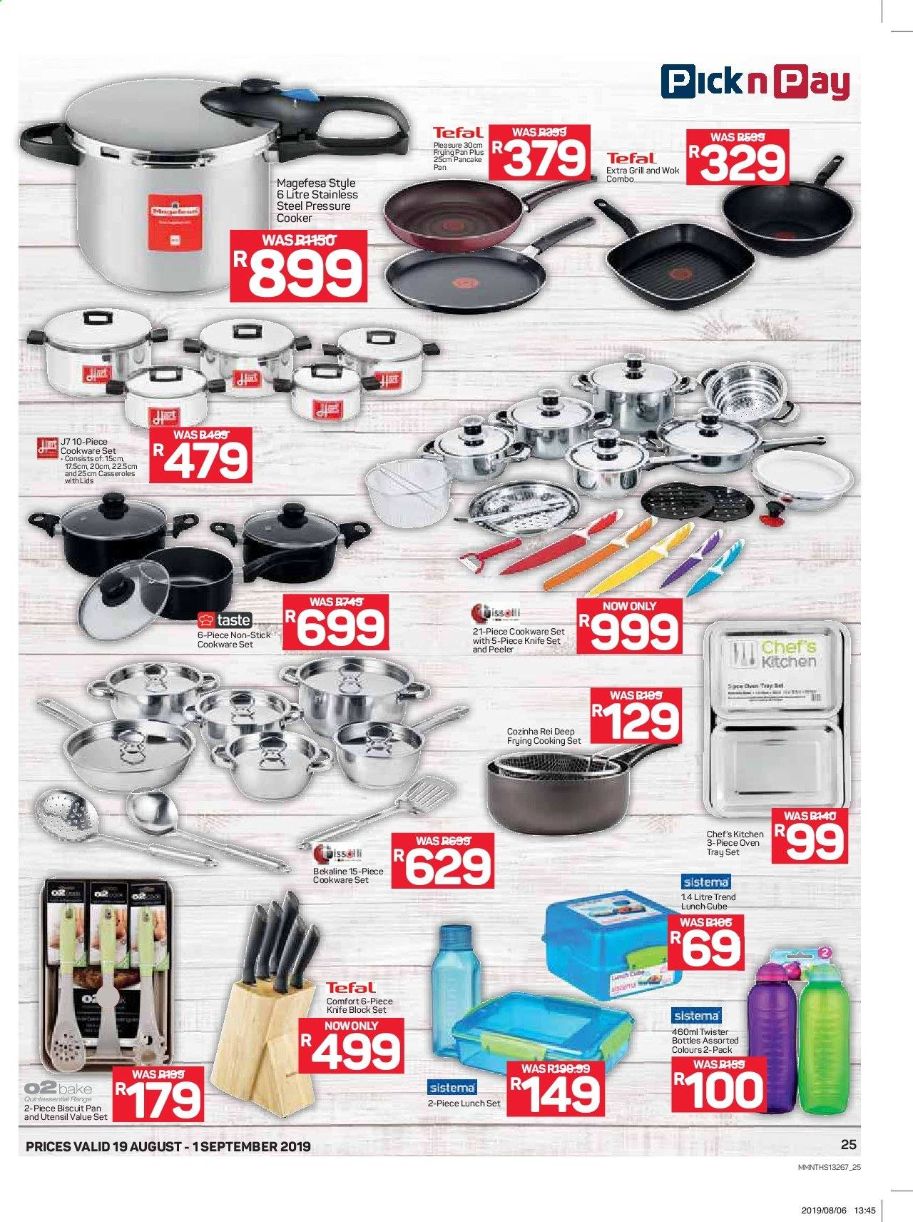 Pick n Pay catalogue  - 08.19.2019 - 09.01.2019. Page 25.