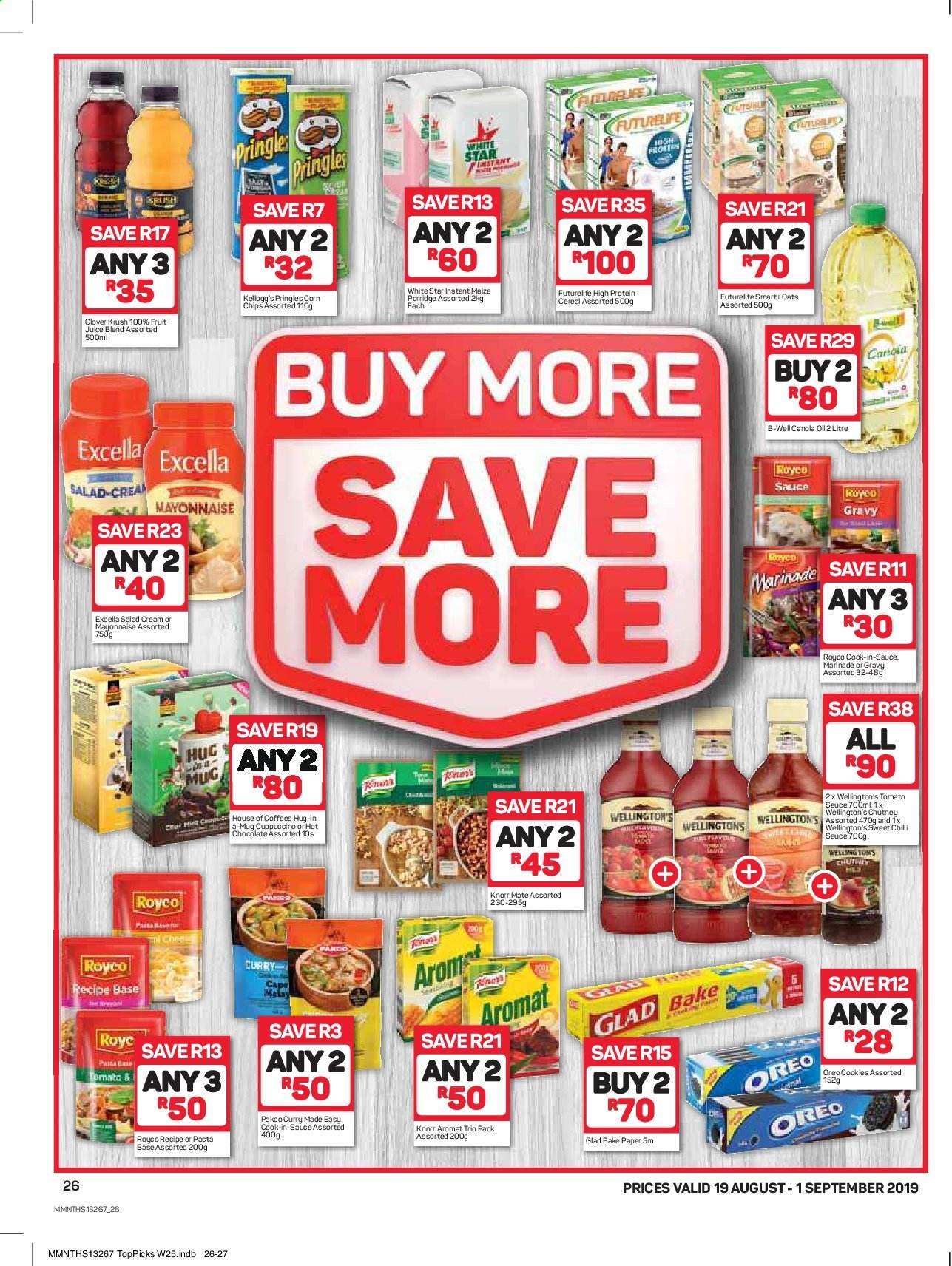 Pick n Pay catalogue  - 08.19.2019 - 09.01.2019. Page 26.