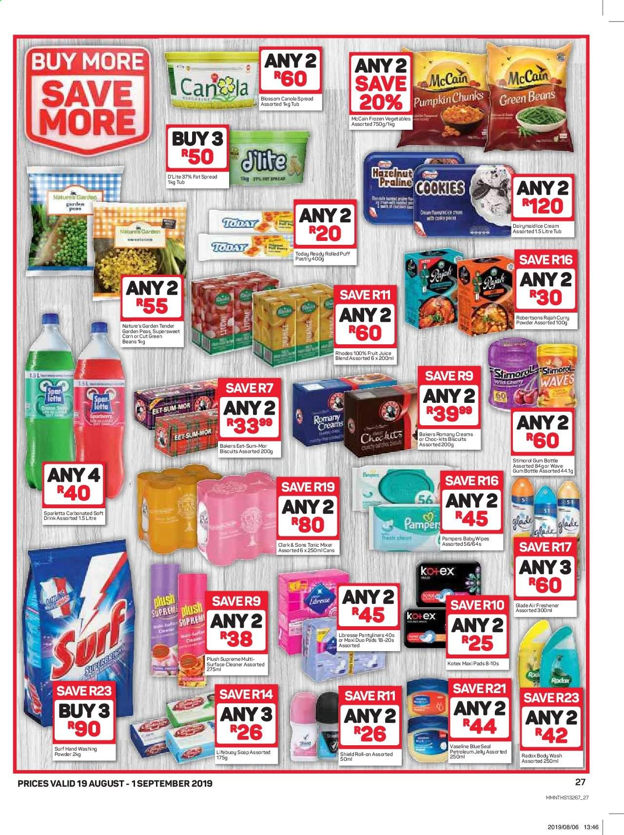 Pick n Pay catalogue  - 08.19.2019 - 09.01.2019. Page 27.