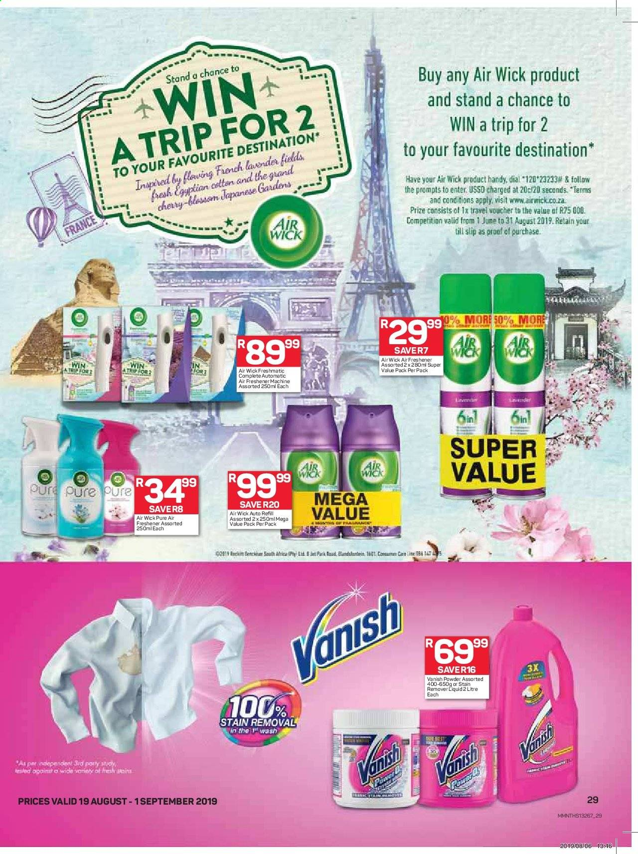 Pick n Pay catalogue  - 08.19.2019 - 09.01.2019. Page 29.