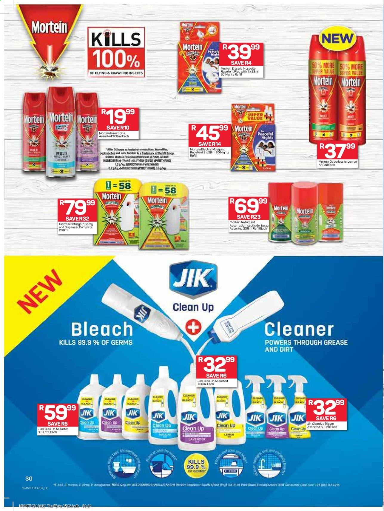 Pick n Pay catalogue  - 08.19.2019 - 09.01.2019. Page 30.