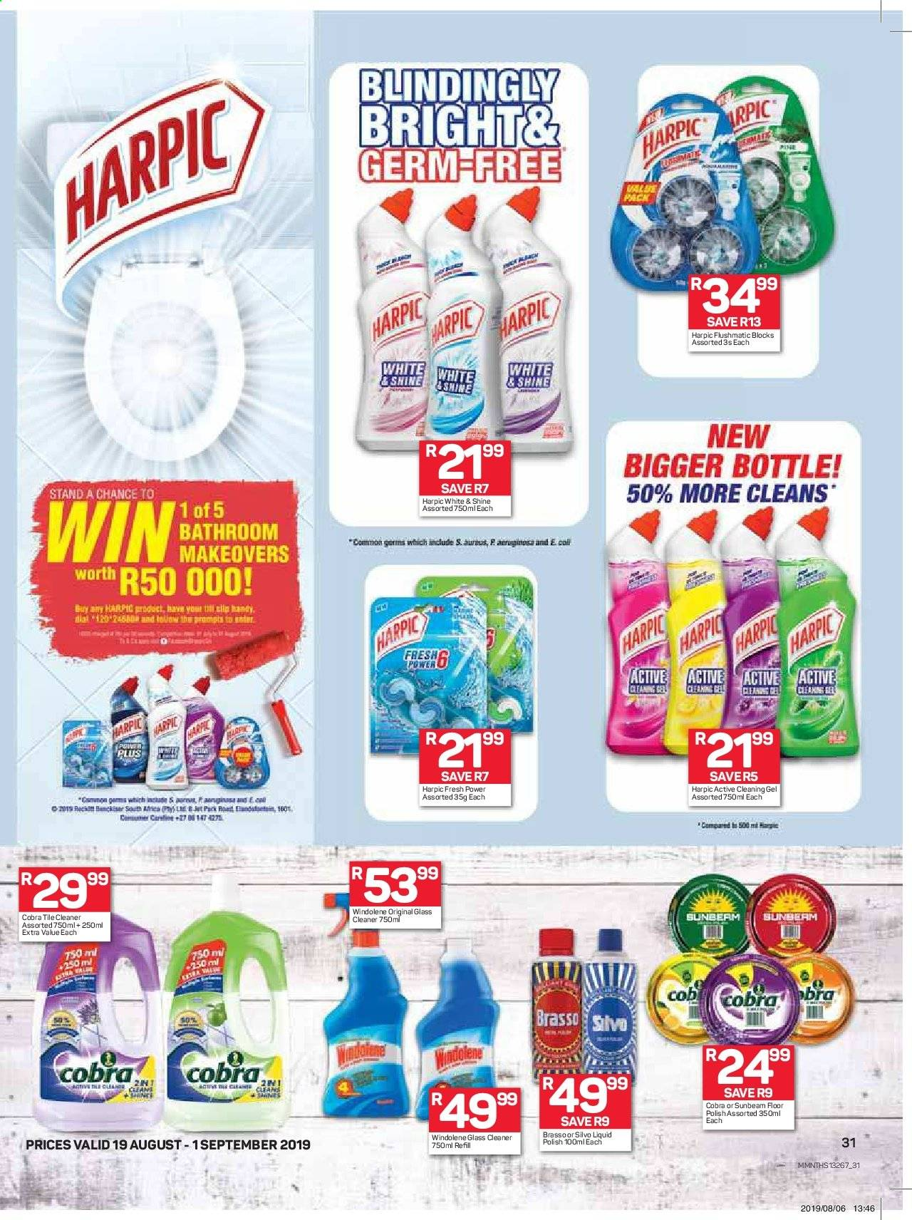 Pick n Pay catalogue  - 08.19.2019 - 09.01.2019. Page 31.