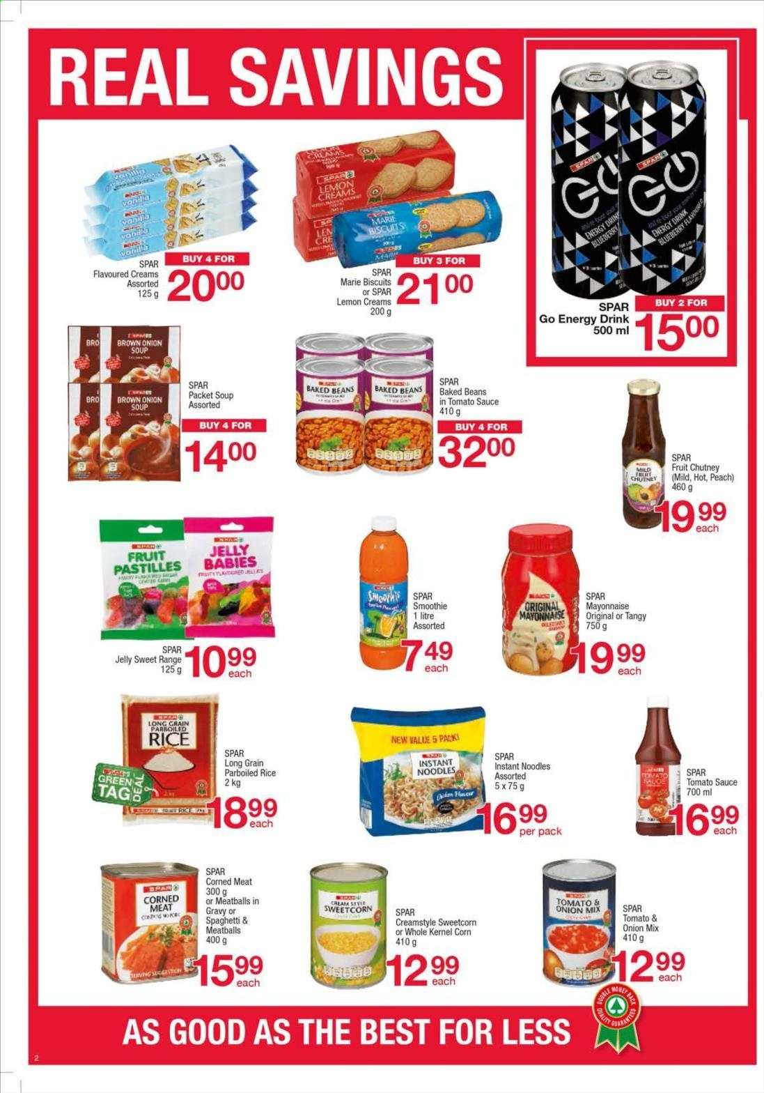 SPAR catalogue  - 08.27.2019 - 09.09.2019. Page 2.