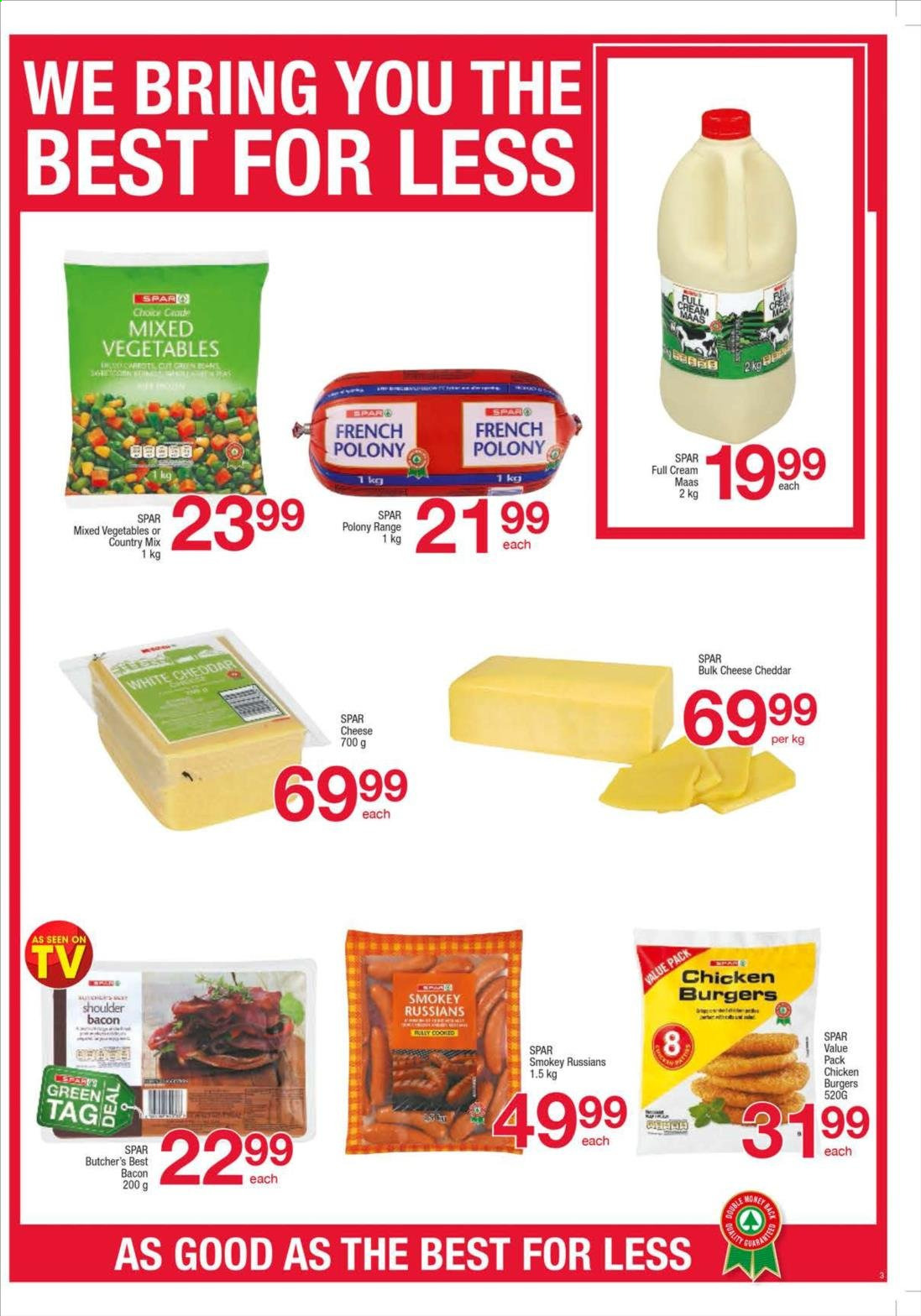 SPAR catalogue  - 08.27.2019 - 09.09.2019. Page 3.