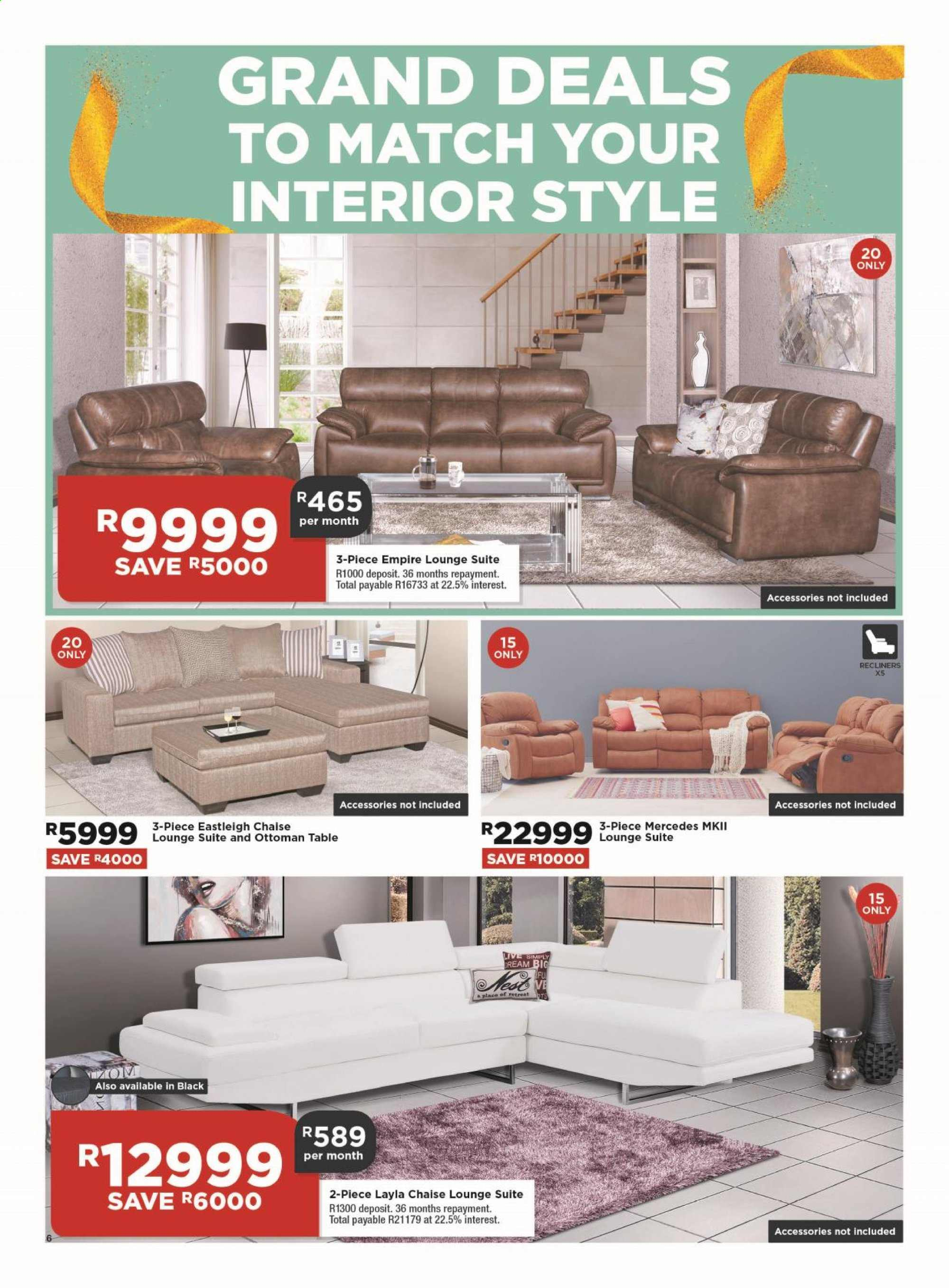 House & Home catalogue  - 08.29.2019 - 09.01.2019. Page 6.
