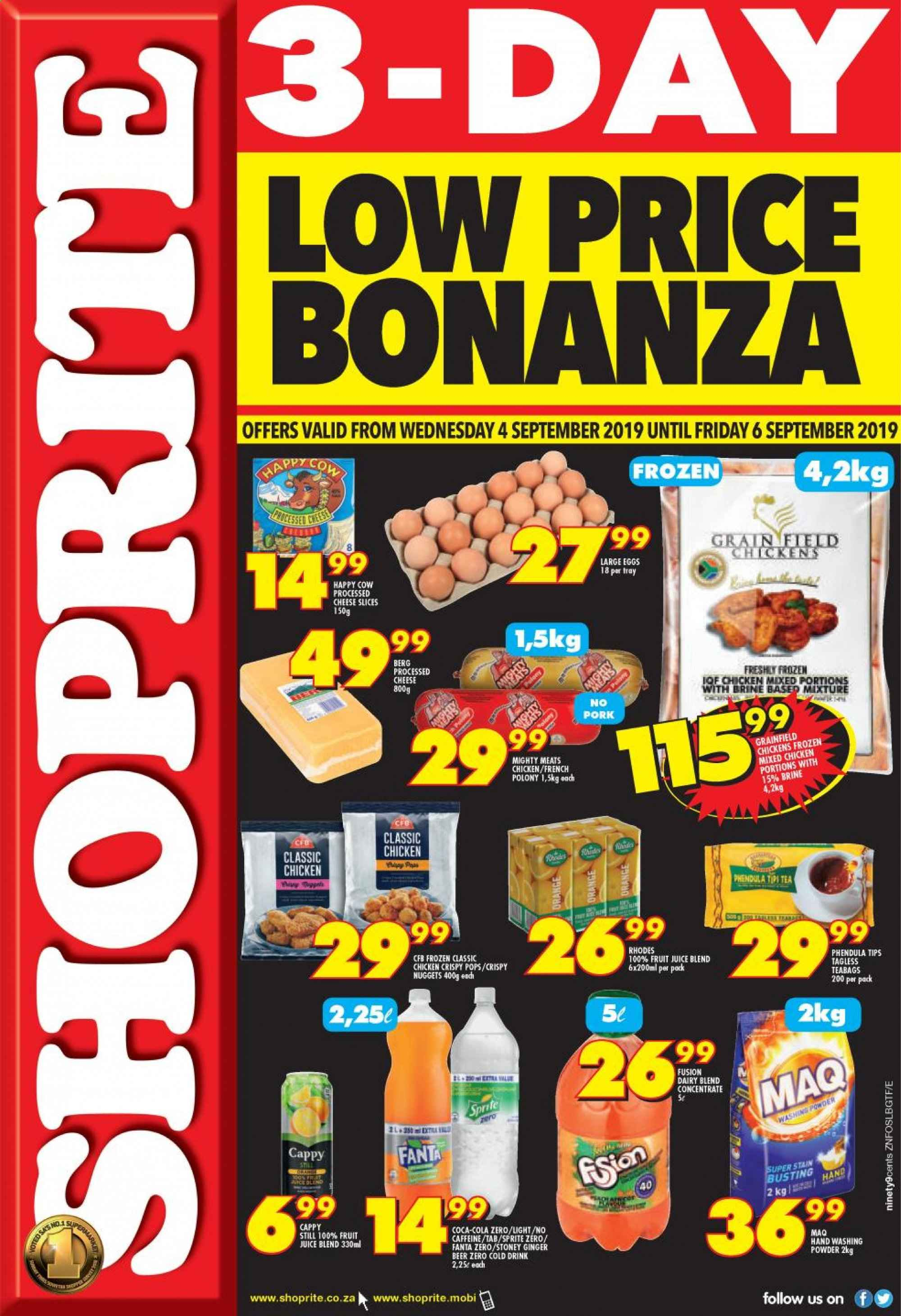 Shoprite catalogue  - 09.04.2019 - 09.06.2019. Page 1.