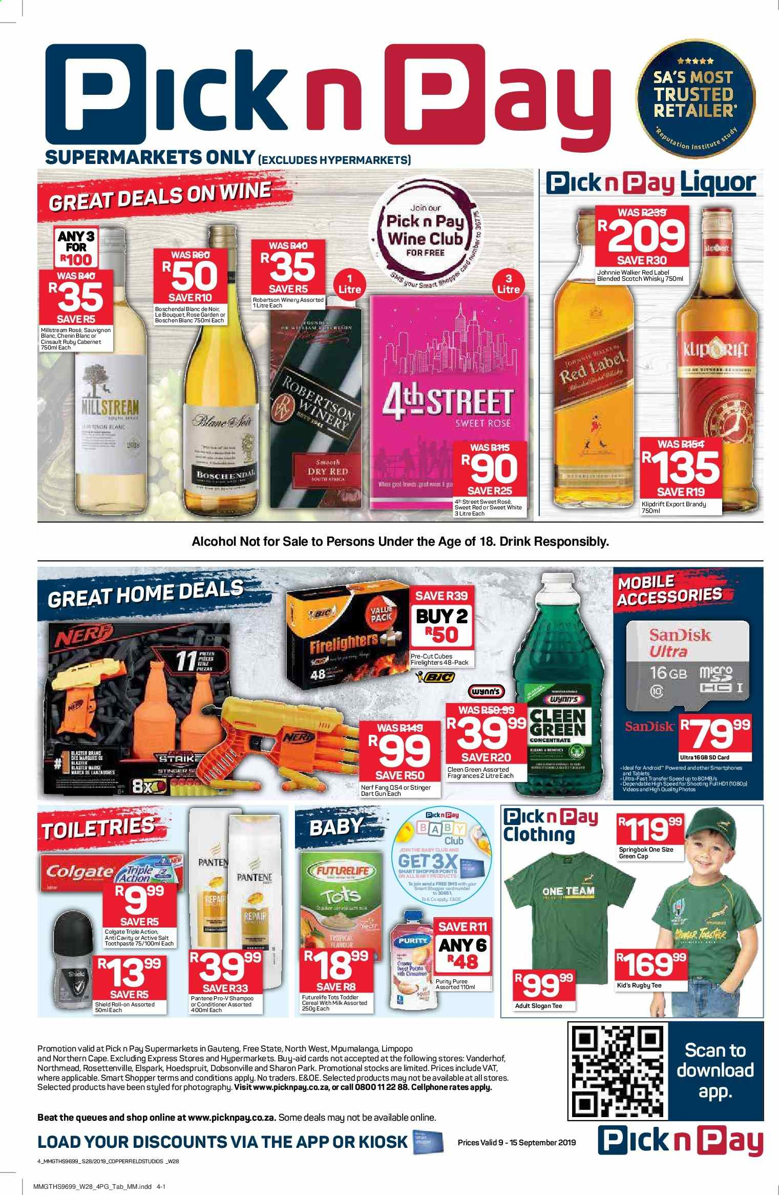Pick n Pay catalogue  - 09.09.2019 - 09.15.2019. Page 4.