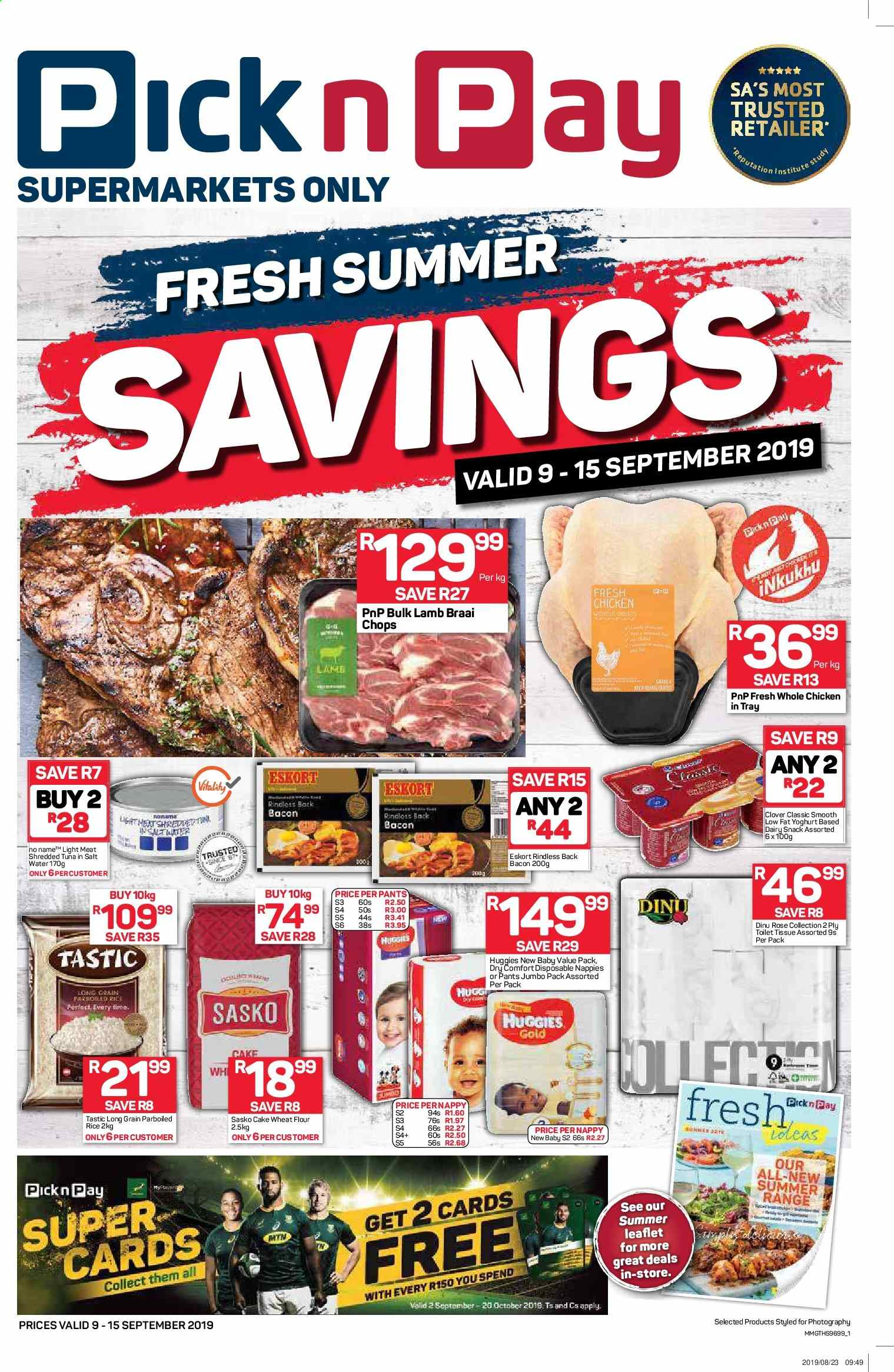 Pick n Pay catalogue  - 09.09.2019 - 09.15.2019. Page 1.