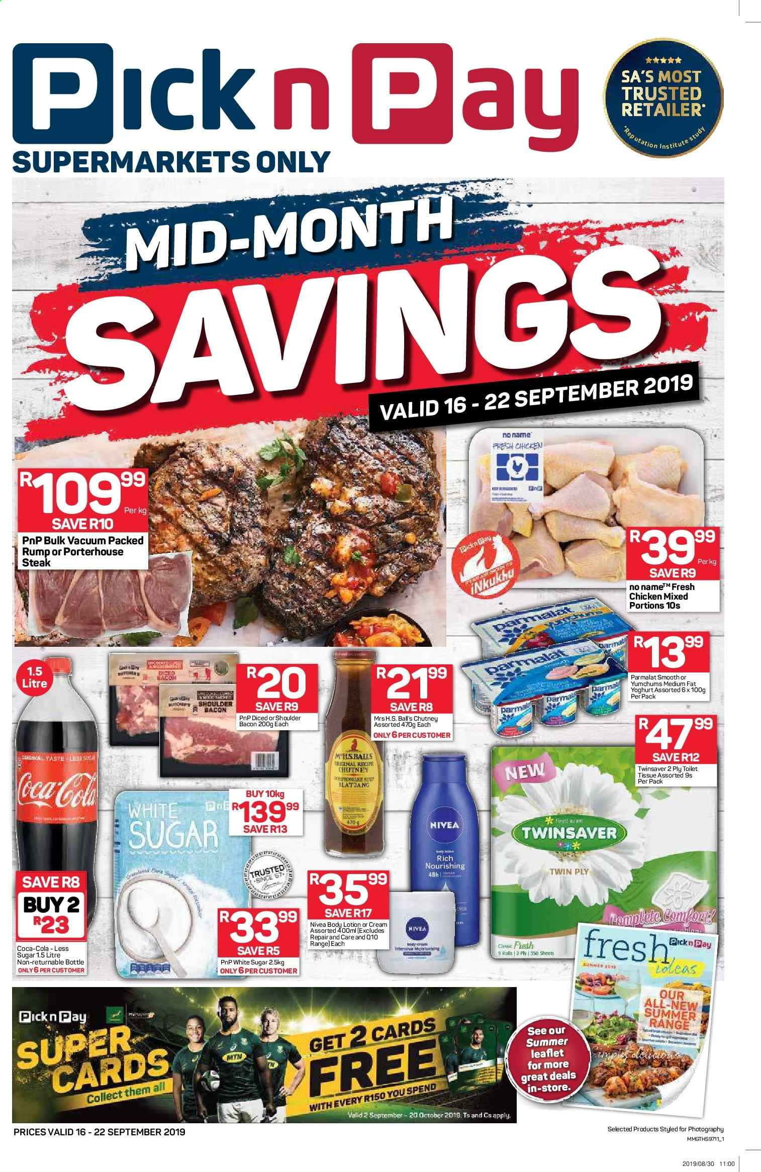 Pick n Pay catalogue  - 09.16.2019 - 09.22.2019. Page 1.