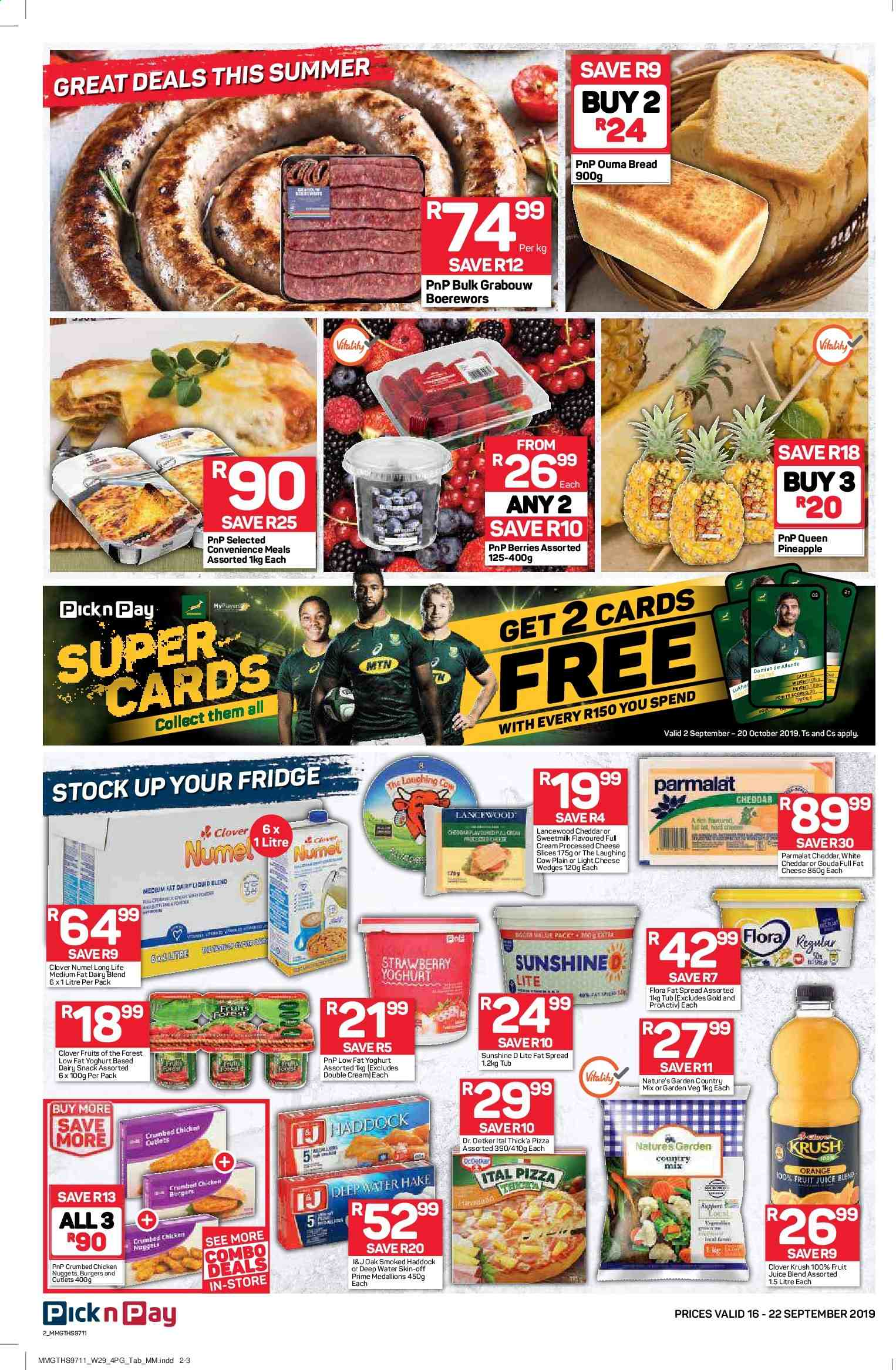 Pick n Pay catalogue  - 09.16.2019 - 09.22.2019. Page 2.
